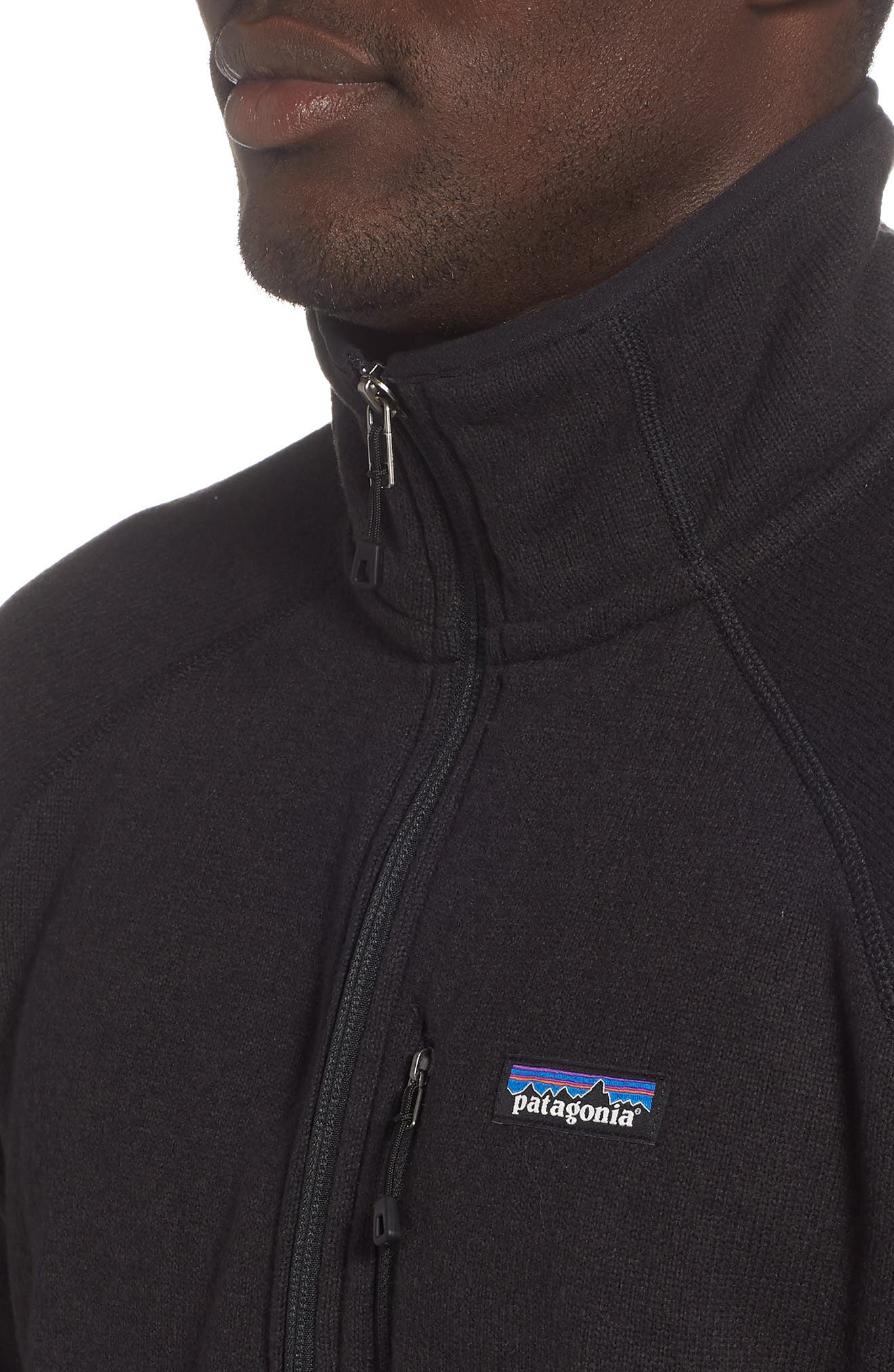 Better Sweater<sup>®</sup> Performance Slim Quarter-Zip Pullover,                             Alternate thumbnail 4, color,                             BLACK