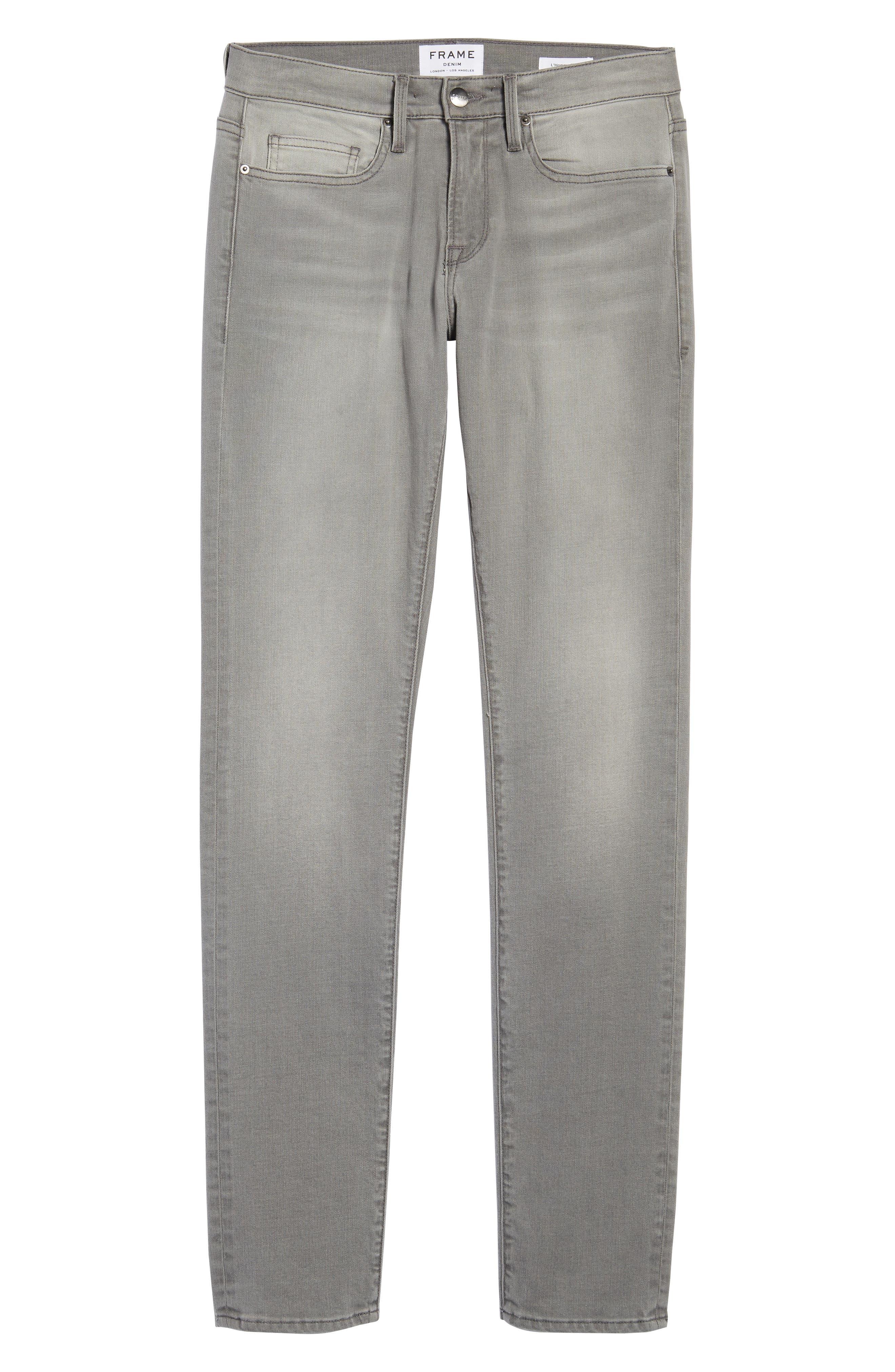 FRAME,                             L'Homme Slim Fit Jeans,                             Alternate thumbnail 6, color,                             031