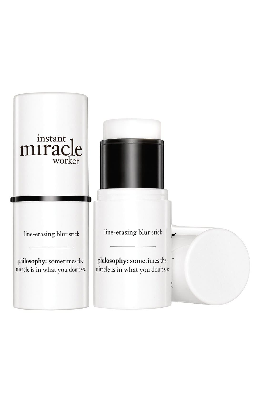 'instant miracle worker' line-erasing blur stick,                             Alternate thumbnail 2, color,                             000