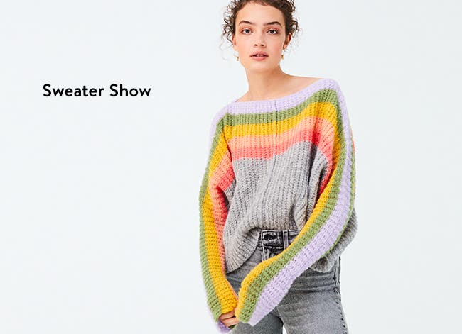 Sweater show: sweaters for women.