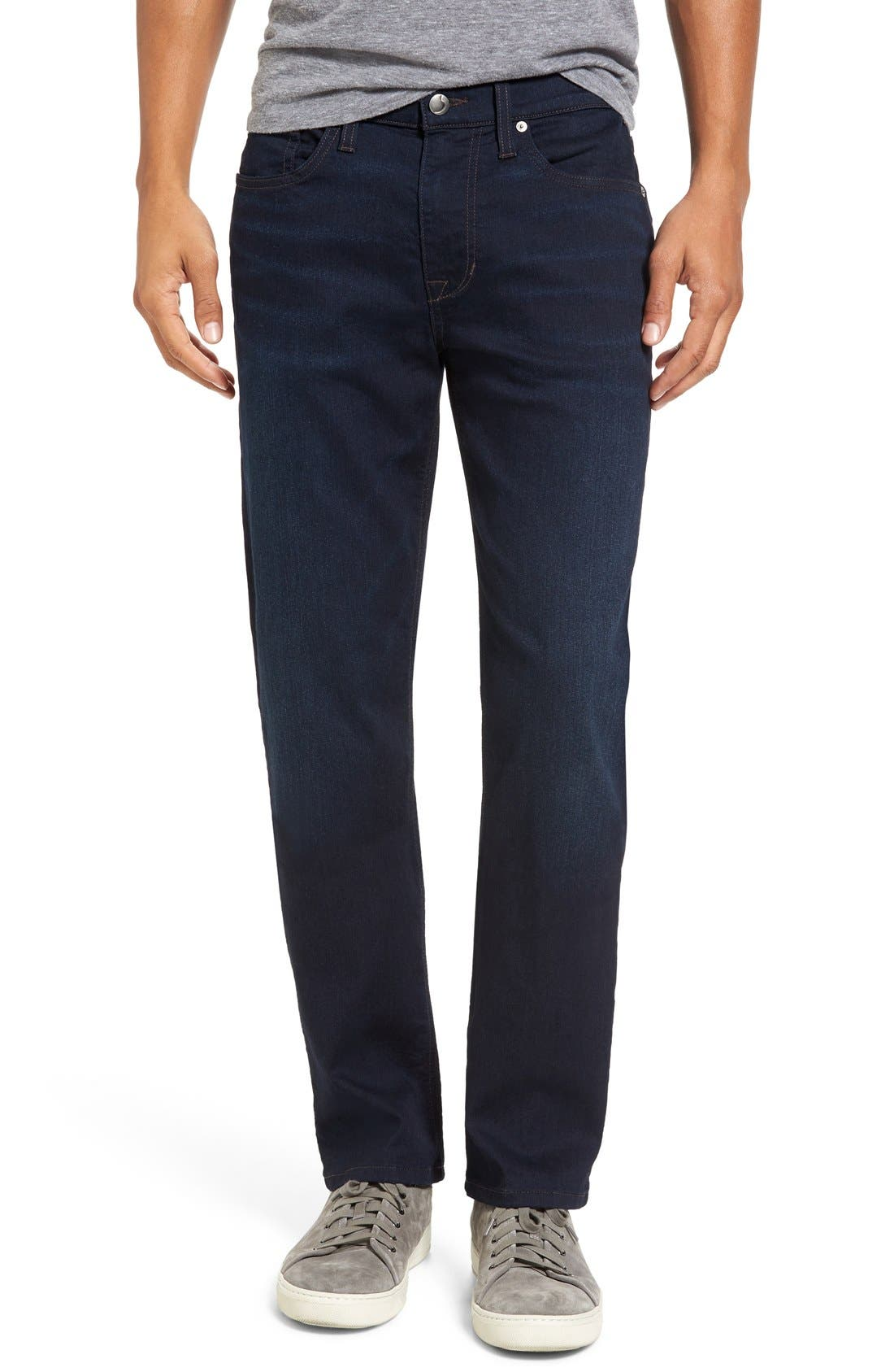 Brixton Kinetic Slim Straight Leg Jeans,                         Main,                         color, 400