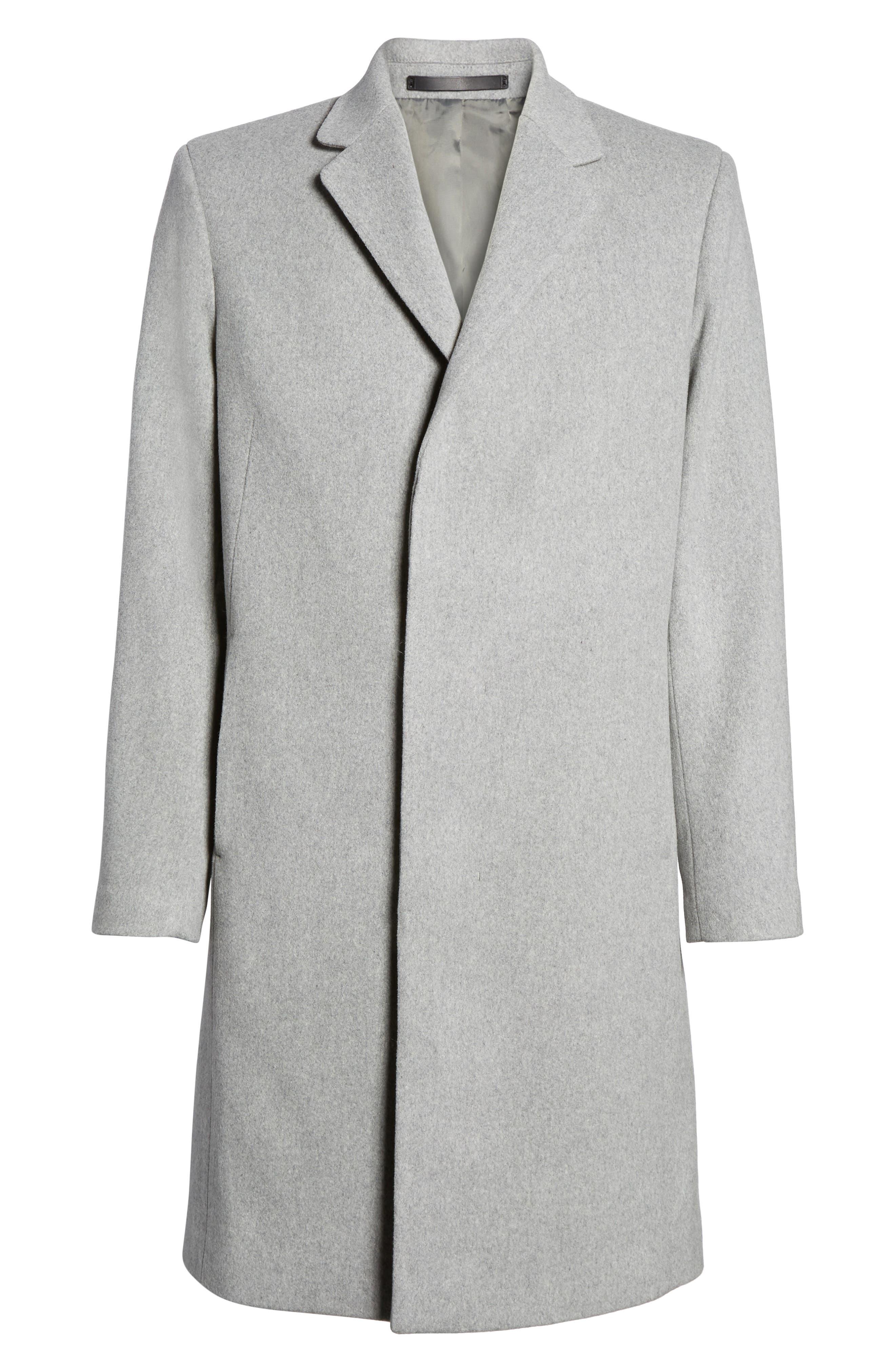 Bower Melton Wool Blend Topcoat,                             Alternate thumbnail 13, color,