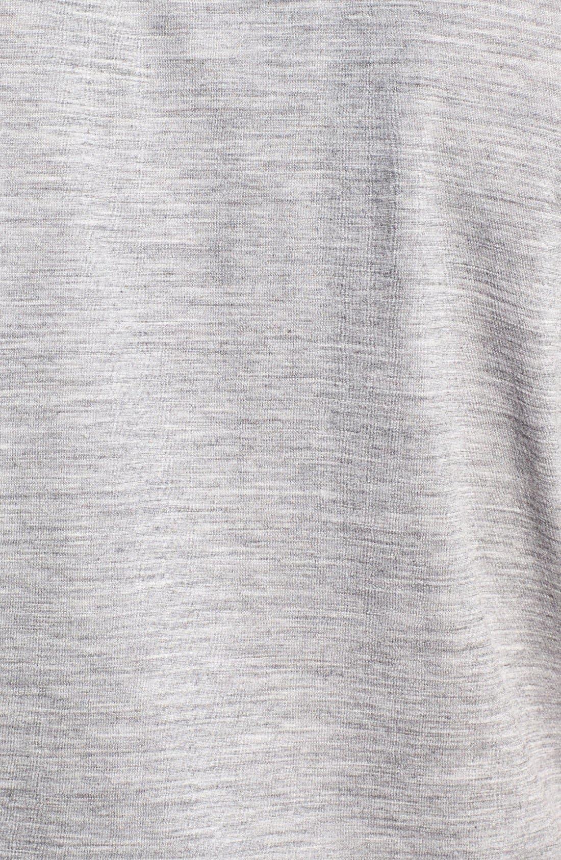 Regular Fit Overdyed Merino Wool T-Shirt,                             Alternate thumbnail 2, color,                             020