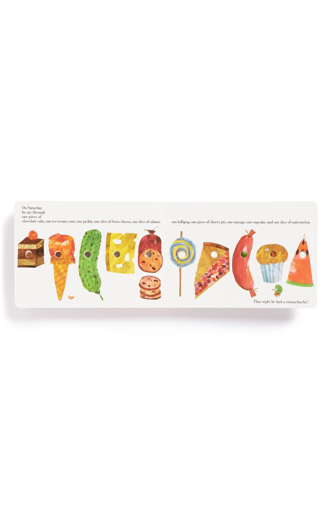 'The Very Hungry Caterpillar' Board Book,                             Alternate thumbnail 2, color,                             NO COLOR