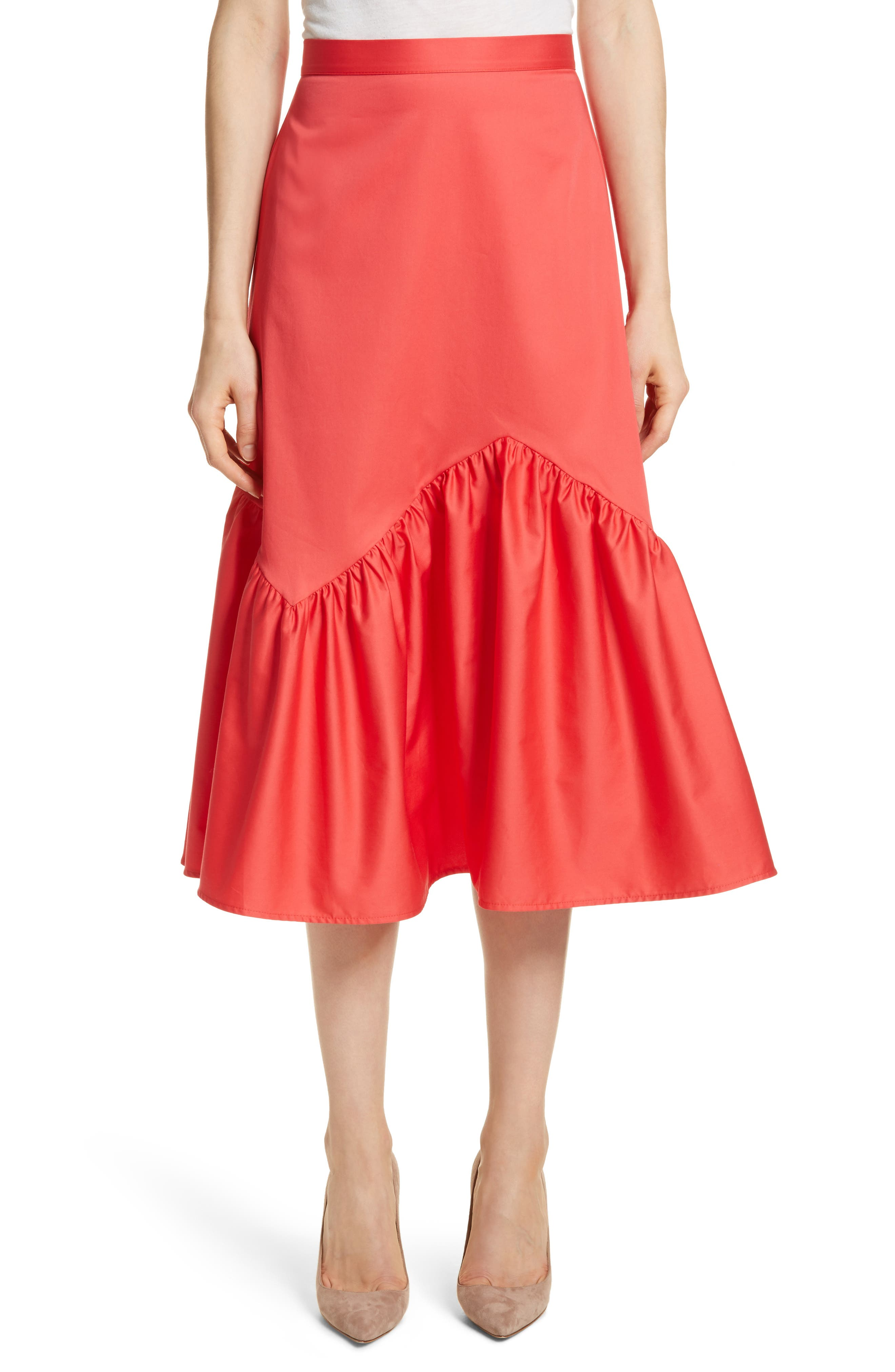 Prose & Poetry Tyra Midi Skirt,                         Main,                         color, 621