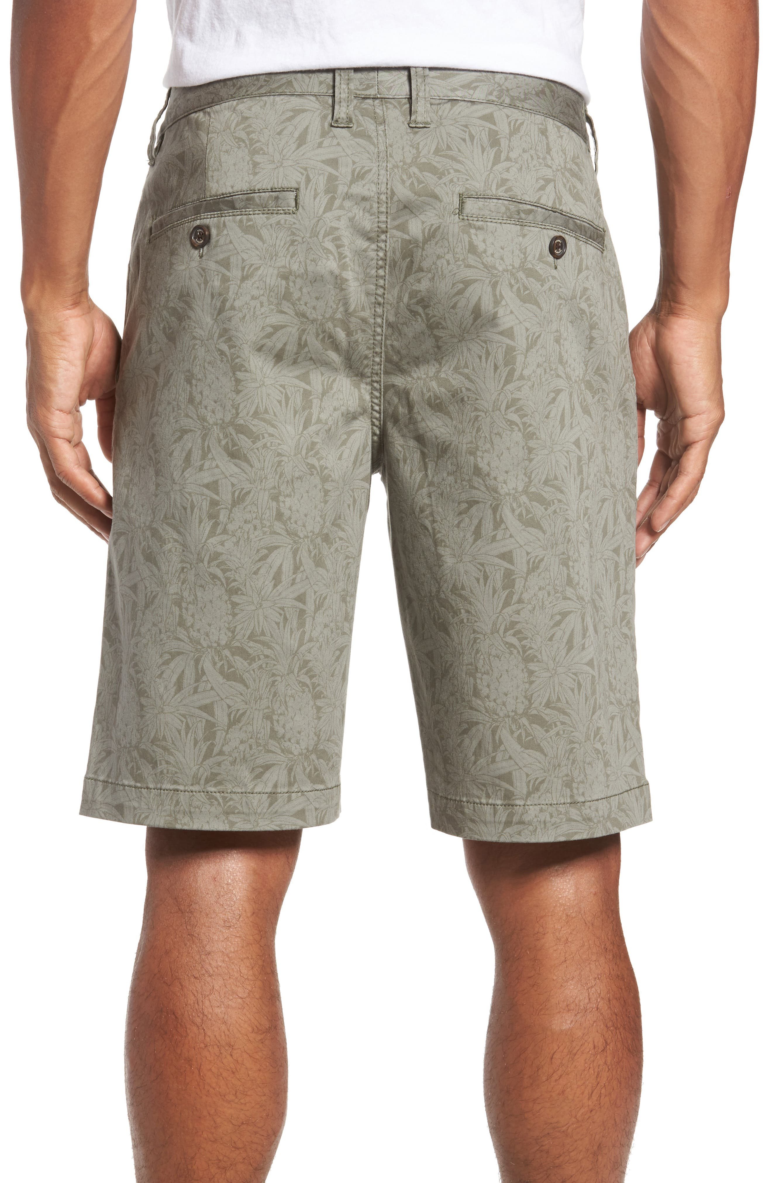 Camo Tropic Standard Fit Chino Shorts,                             Alternate thumbnail 2, color,                             300