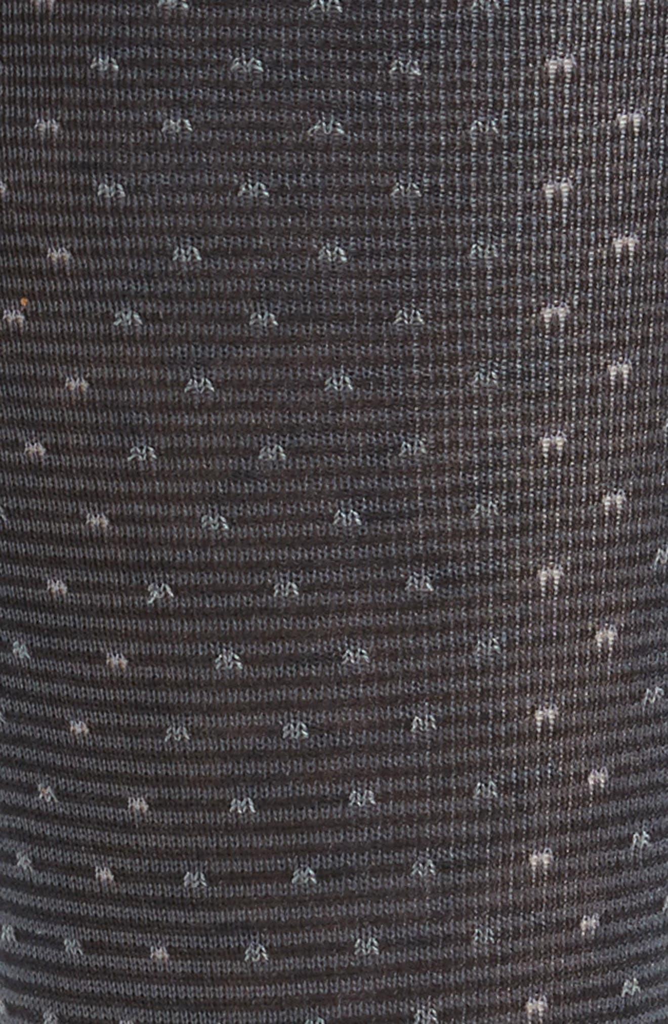 Dot Socks,                             Alternate thumbnail 2, color,                             BLACK
