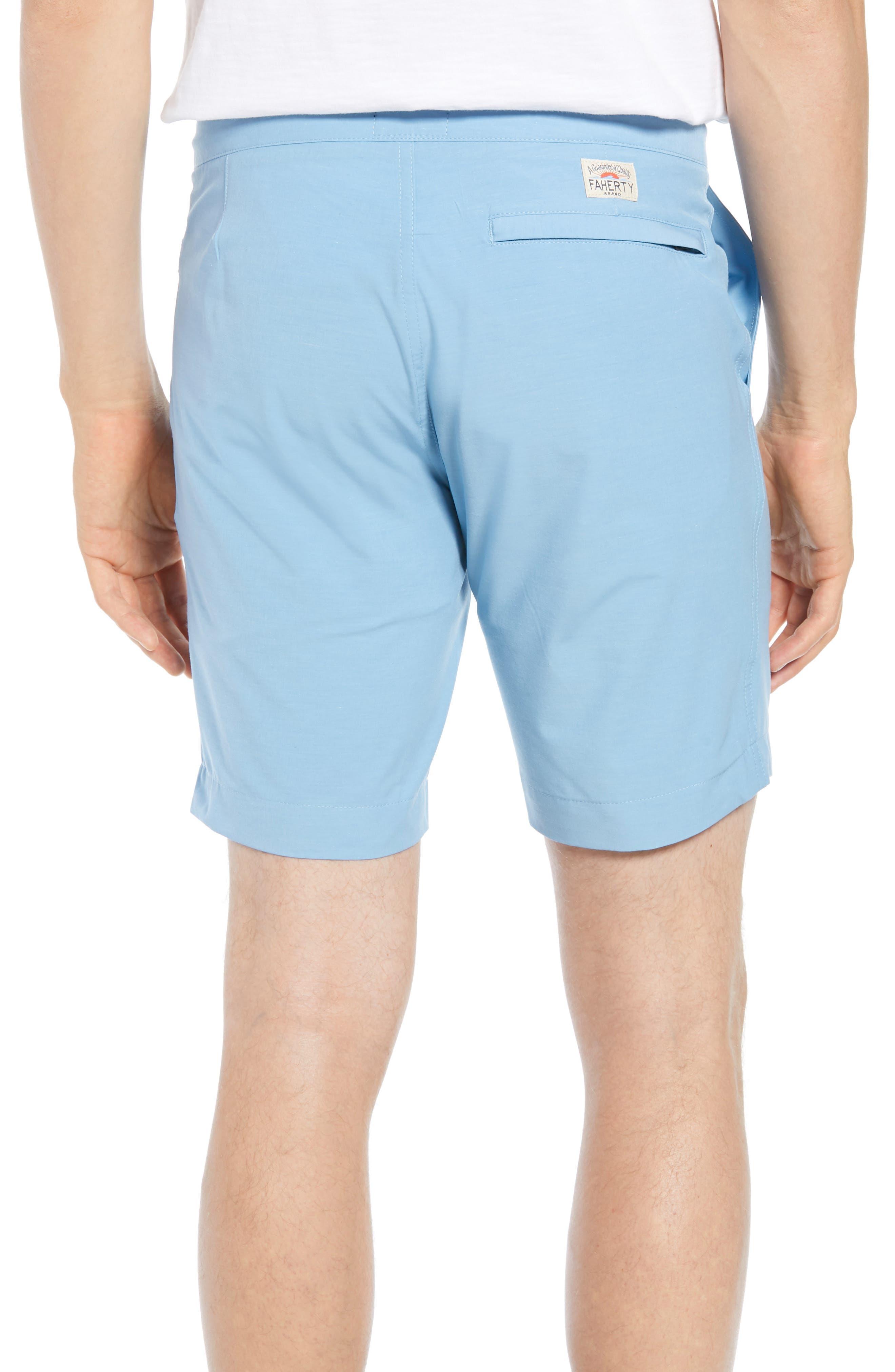 All Day Flat Front Shorts,                             Alternate thumbnail 2, color,                             COASTAL BLUE