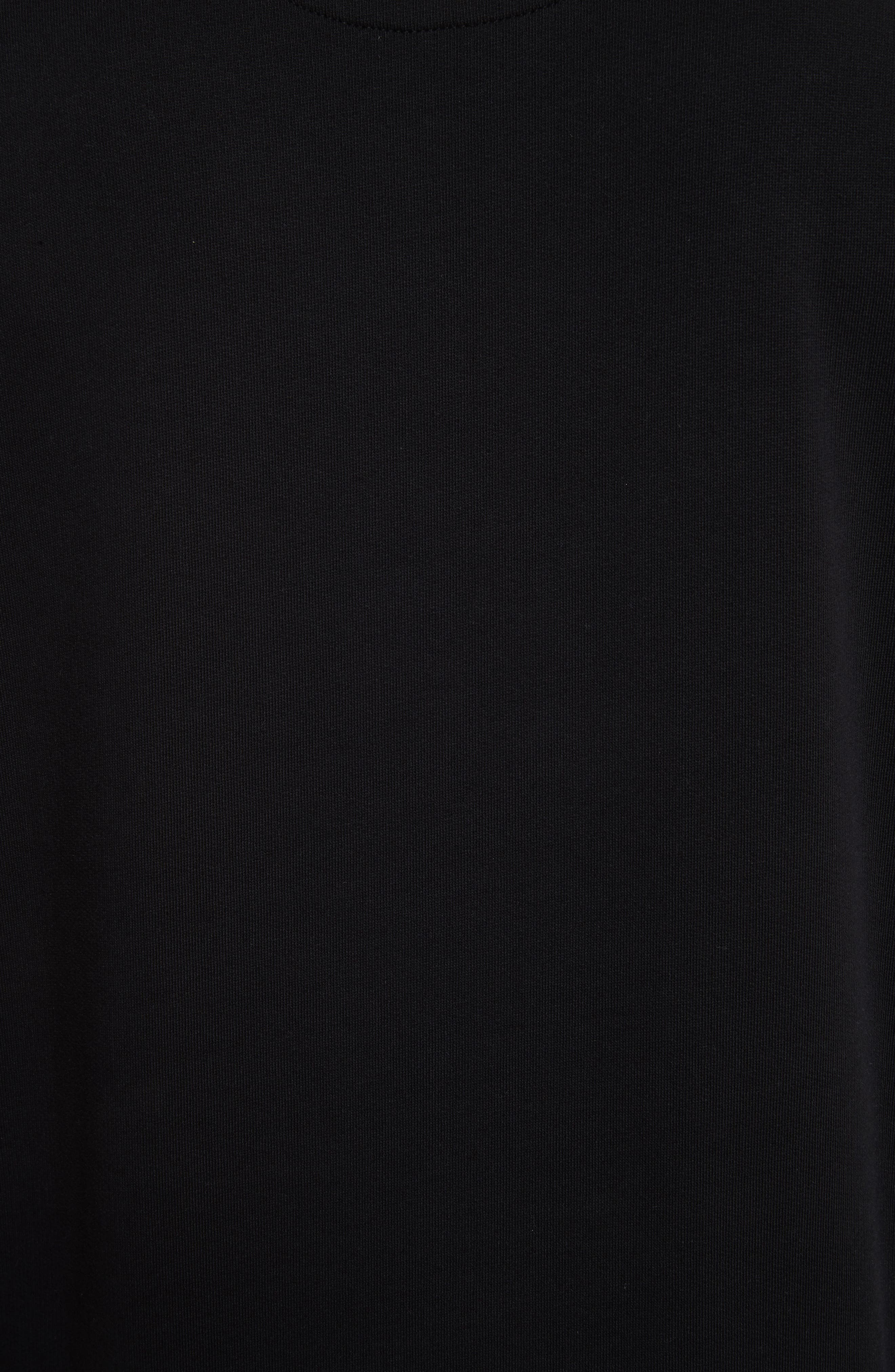 VERSUS by Versace Heartbeat Graphic Sweatshirt,                             Alternate thumbnail 5, color,                             005