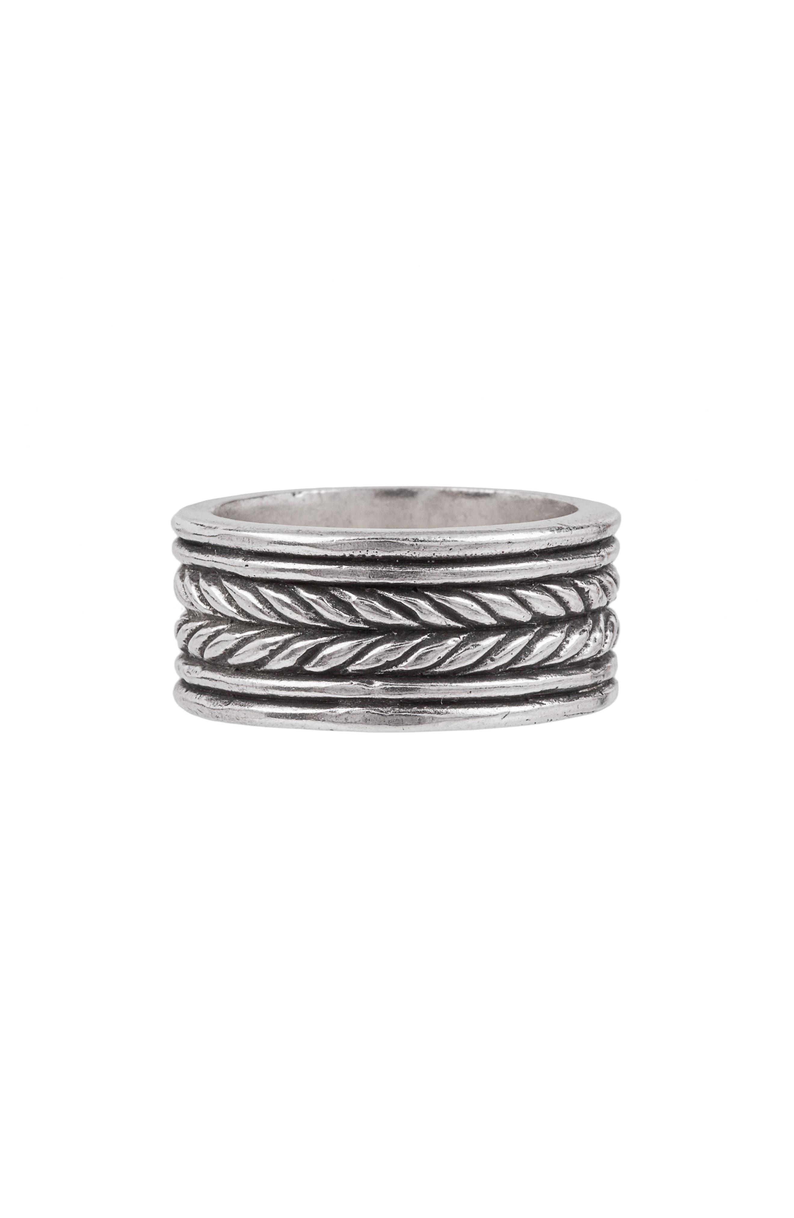 Rope Band Ring,                             Main thumbnail 1, color,                             040