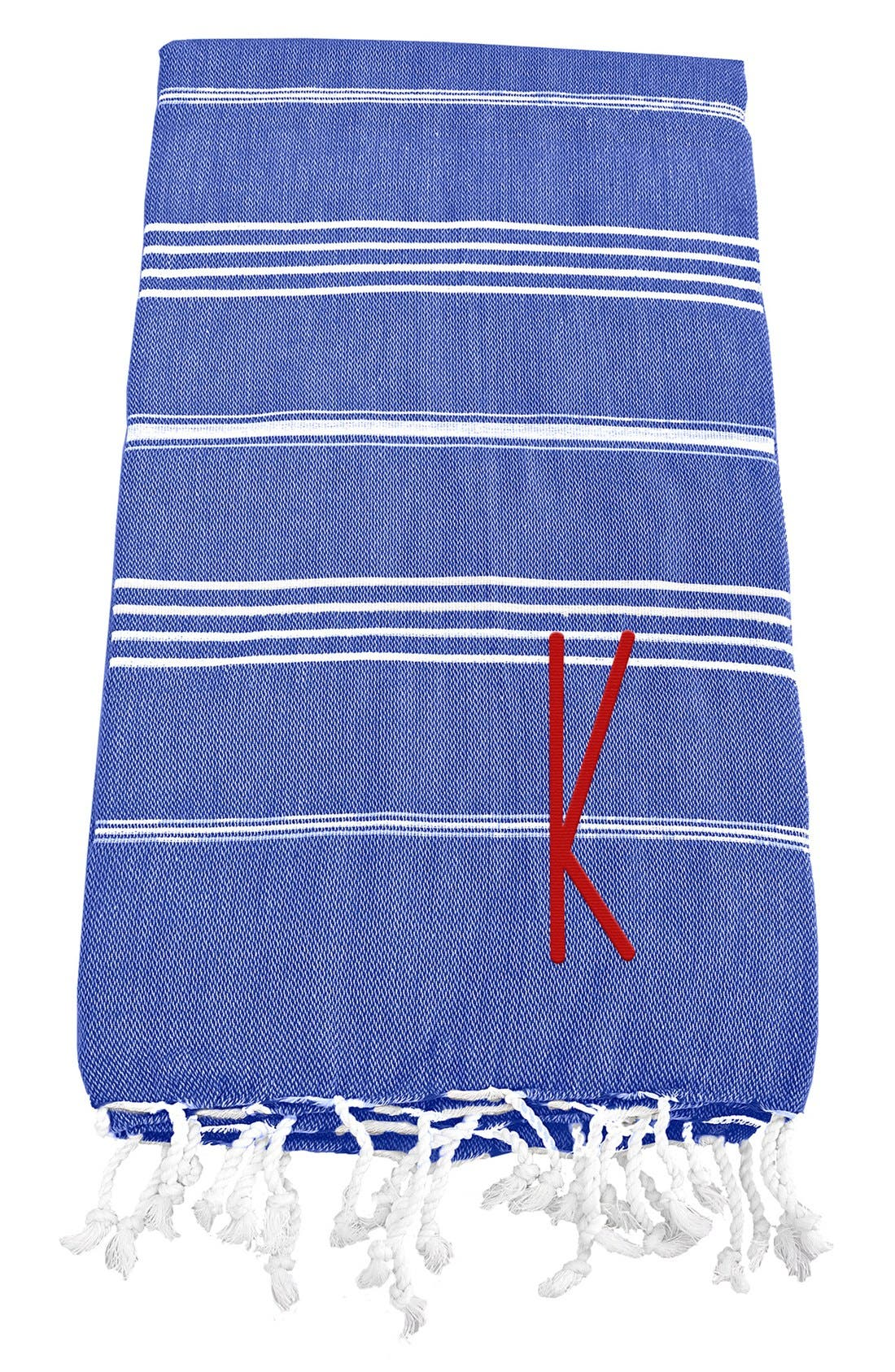 Monogram Turkish Cotton Towel,                             Main thumbnail 67, color,