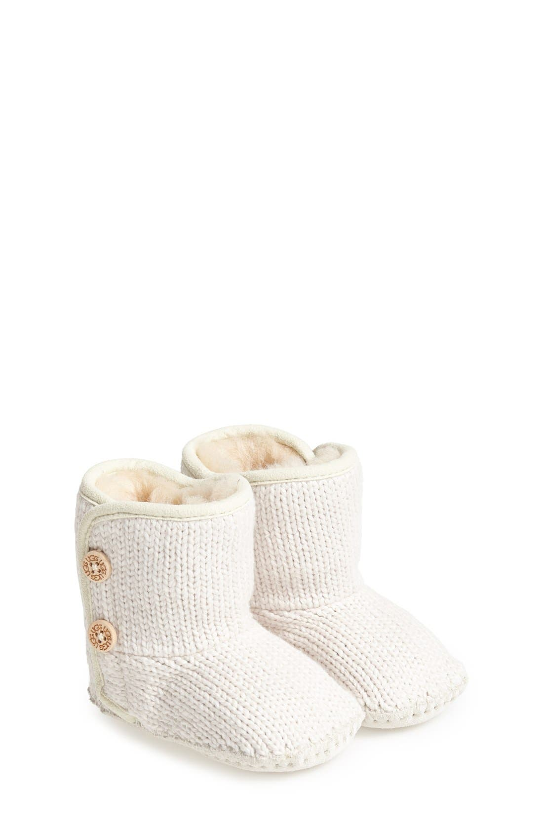 Purl Knit Bootie,                         Main,                         color, 924