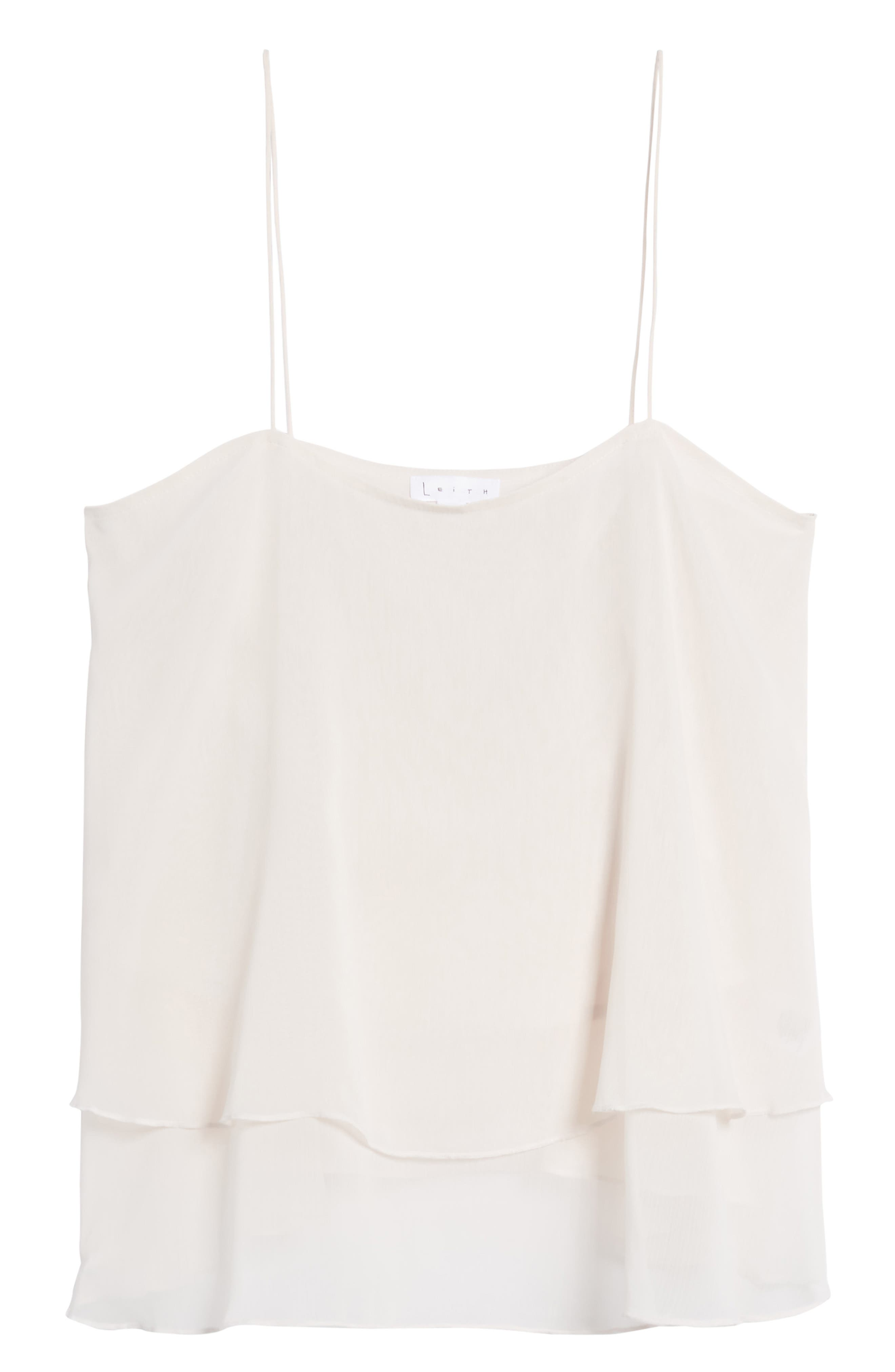 Tiered Chiffon Camisole,                             Alternate thumbnail 18, color,