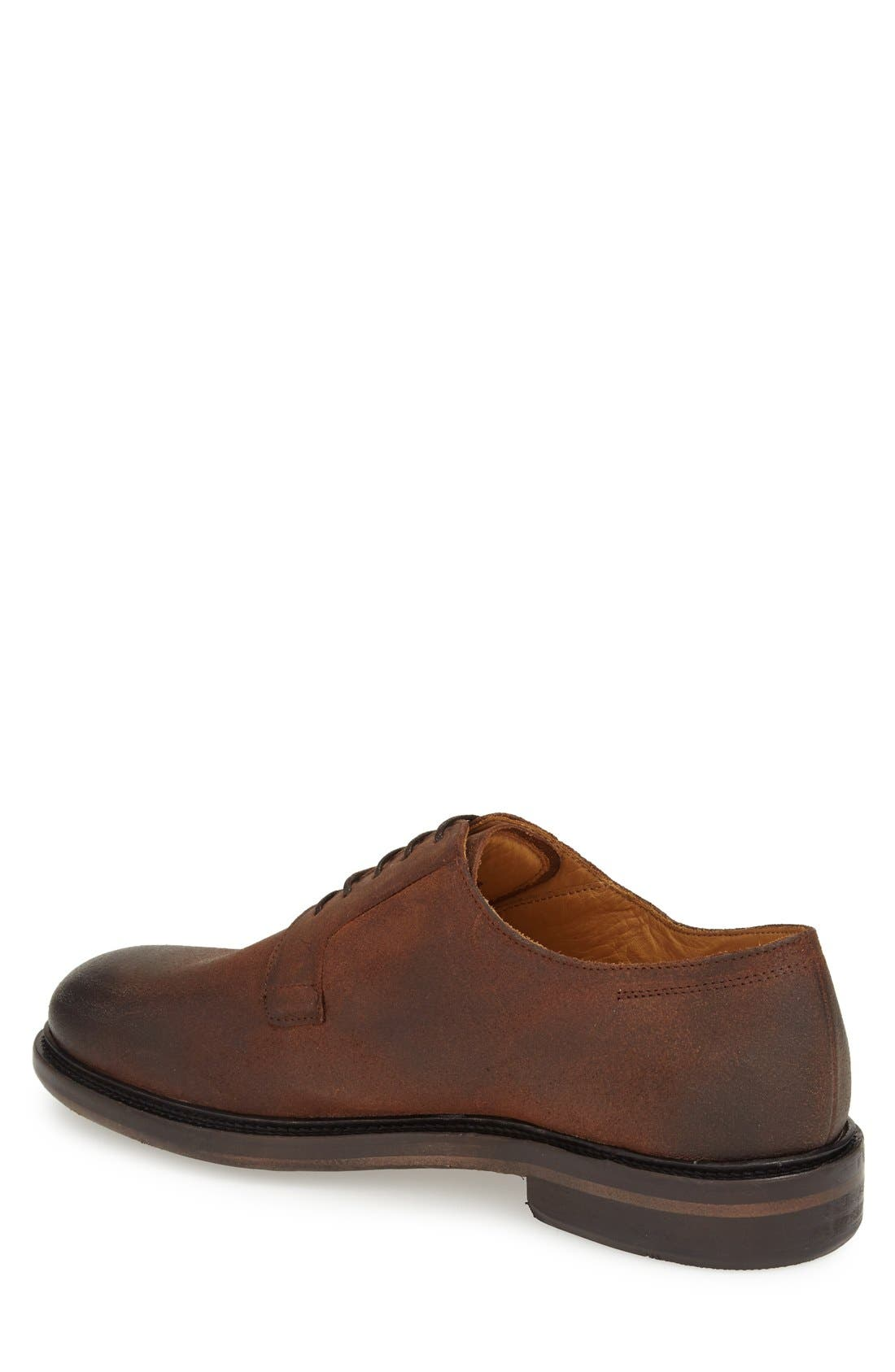 'Samtin' Plain Toe Blucher,                             Alternate thumbnail 4, color,