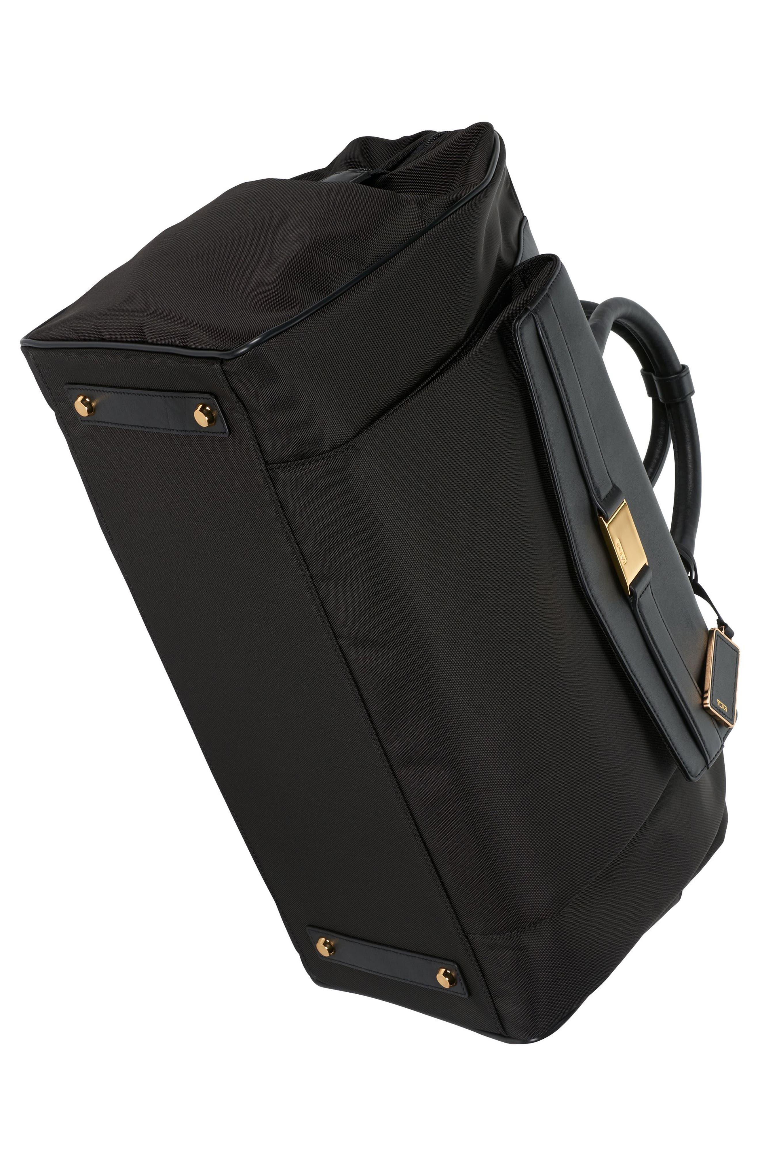 Larkin - Allendale Nylon Duffel Bag,                             Alternate thumbnail 5, color,                             001