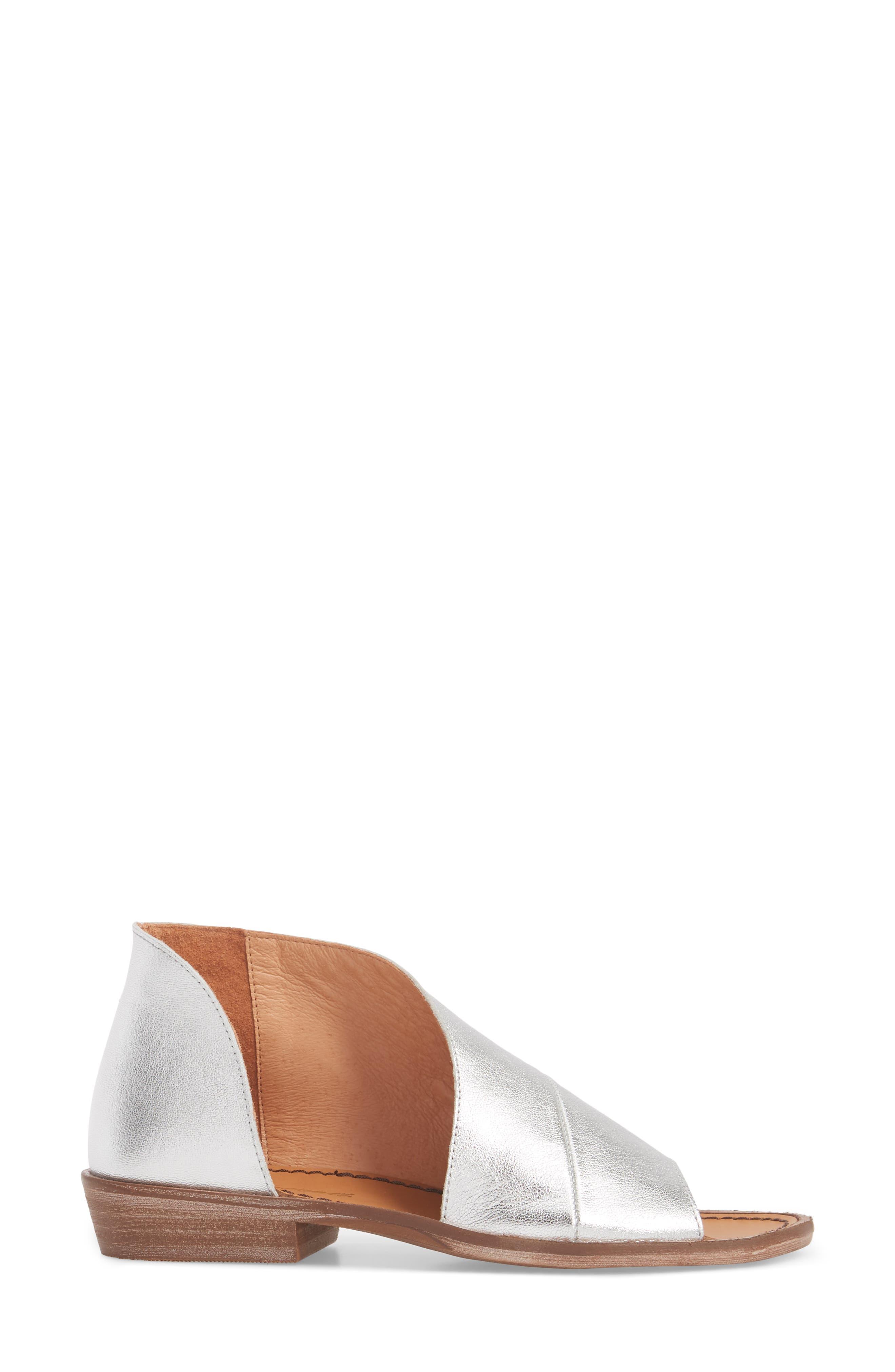'Mont Blanc' Asymmetrical Sandal,                             Alternate thumbnail 30, color,
