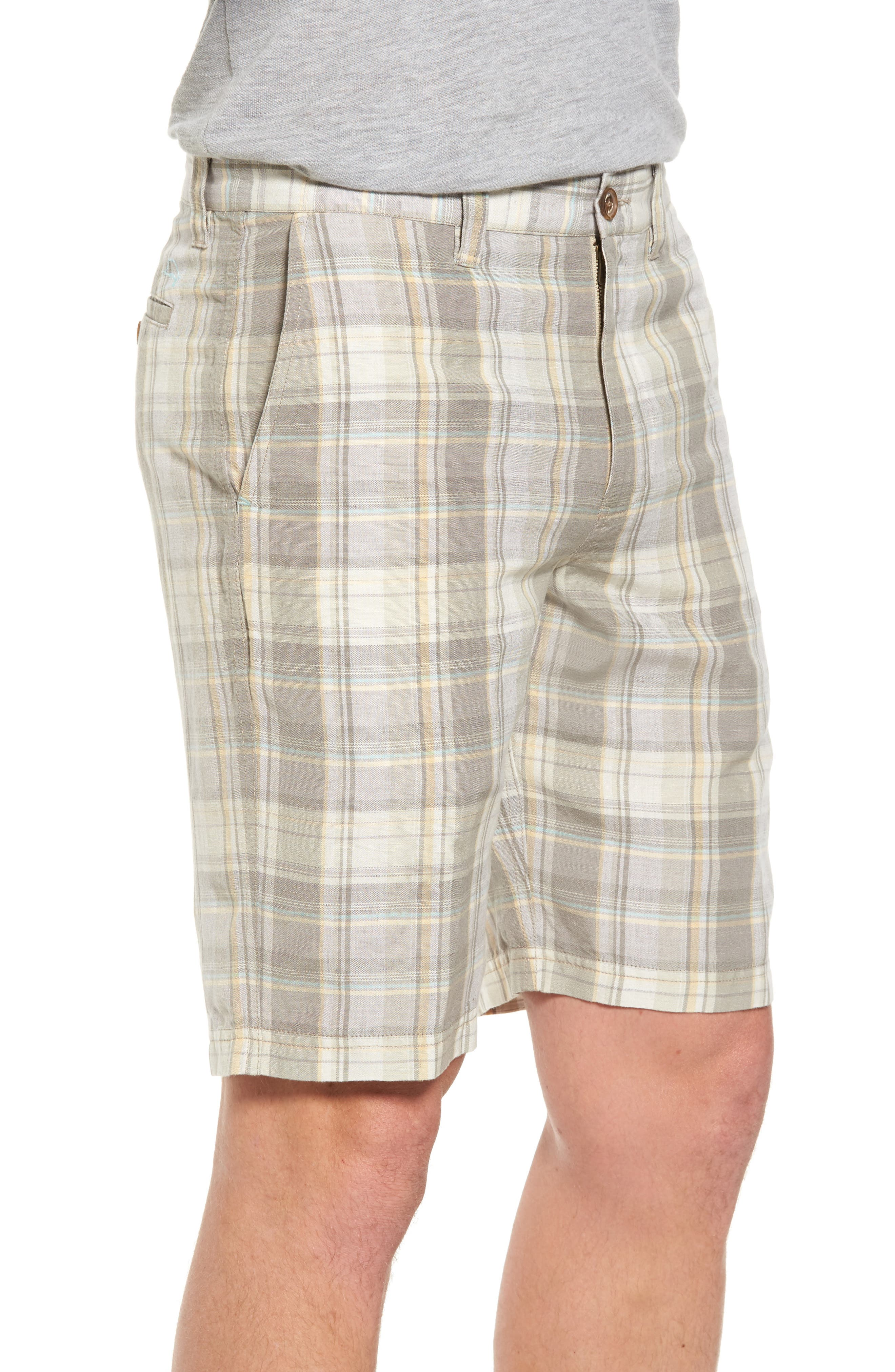 Coastal Dunes Plaid Shorts,                             Alternate thumbnail 3, color,                             250