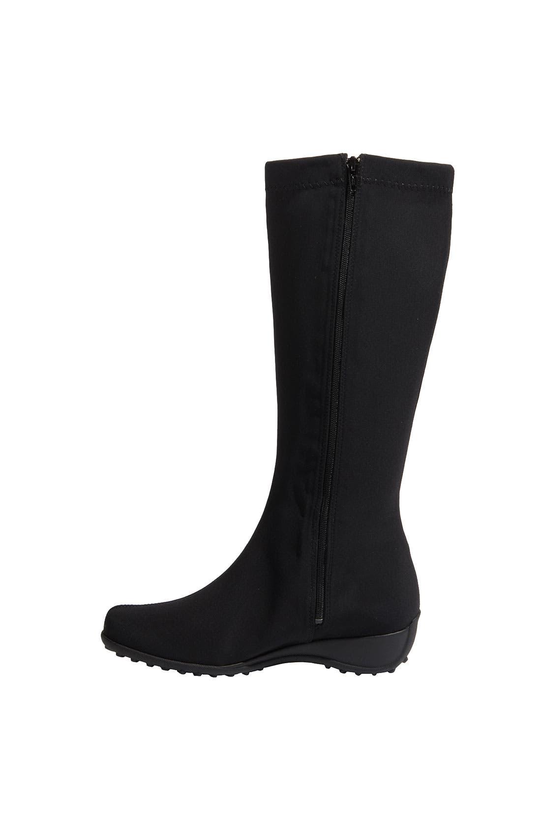 'Linda' Waterproof Stretch Boot,                             Alternate thumbnail 2, color,                             009
