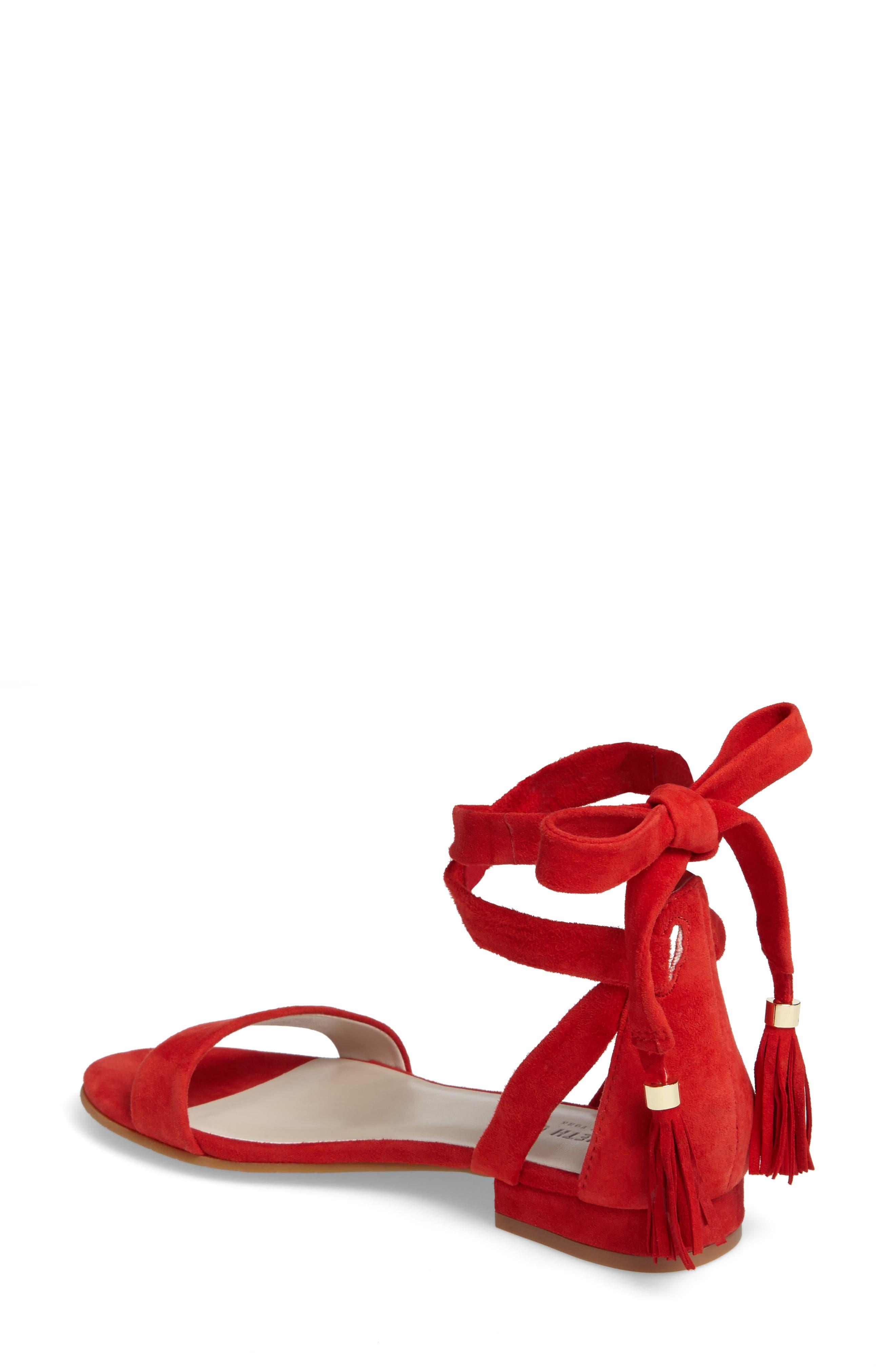 Valen Tassel Lace-Up Sandal,                             Alternate thumbnail 25, color,