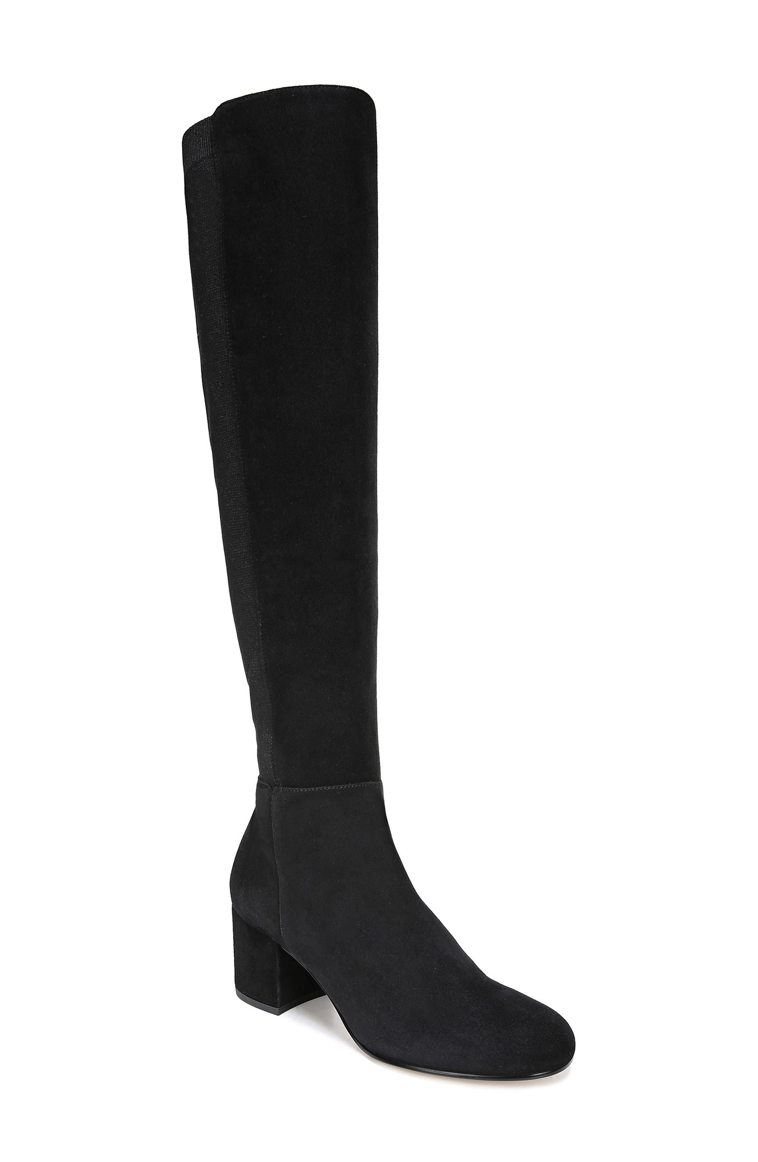 Sam Edelman Valda Knee High Boot- Black