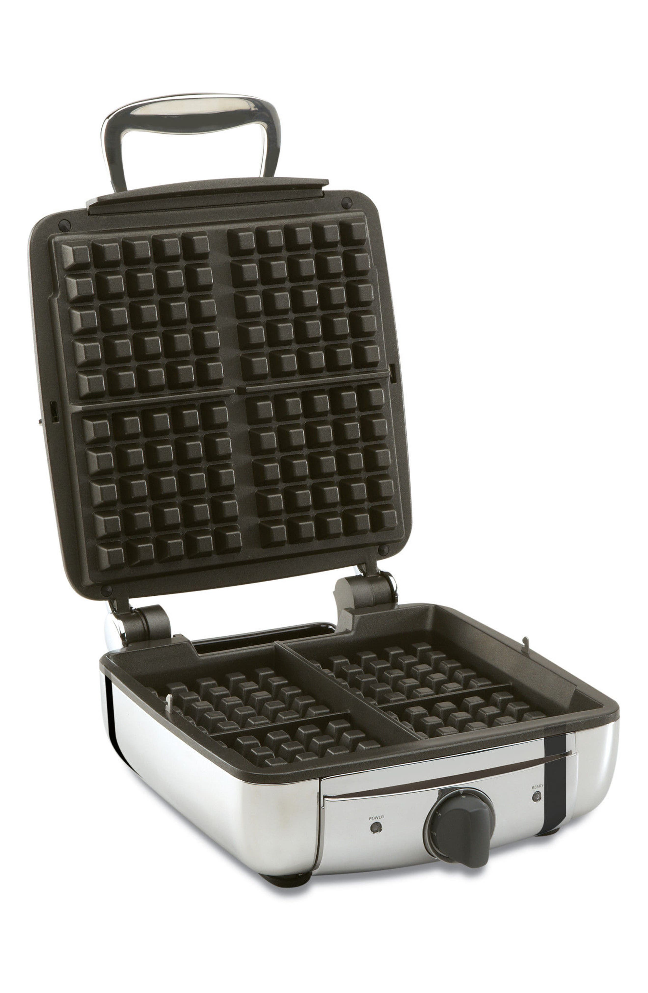Four-Slice Belgian Waffle Maker,                         Main,                         color,