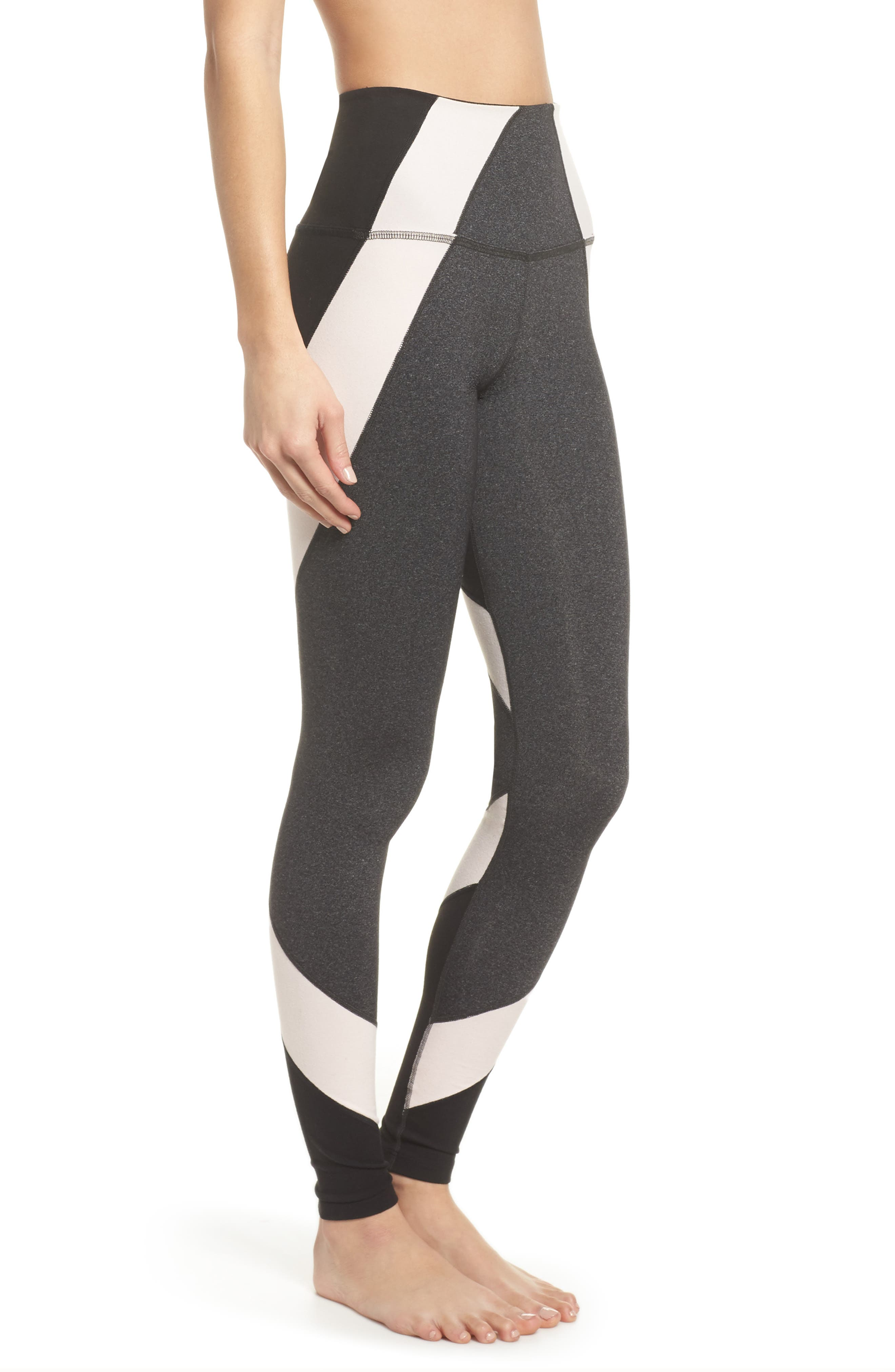 Around the Colorblock High Waist Leggings,                             Alternate thumbnail 3, color,                             062