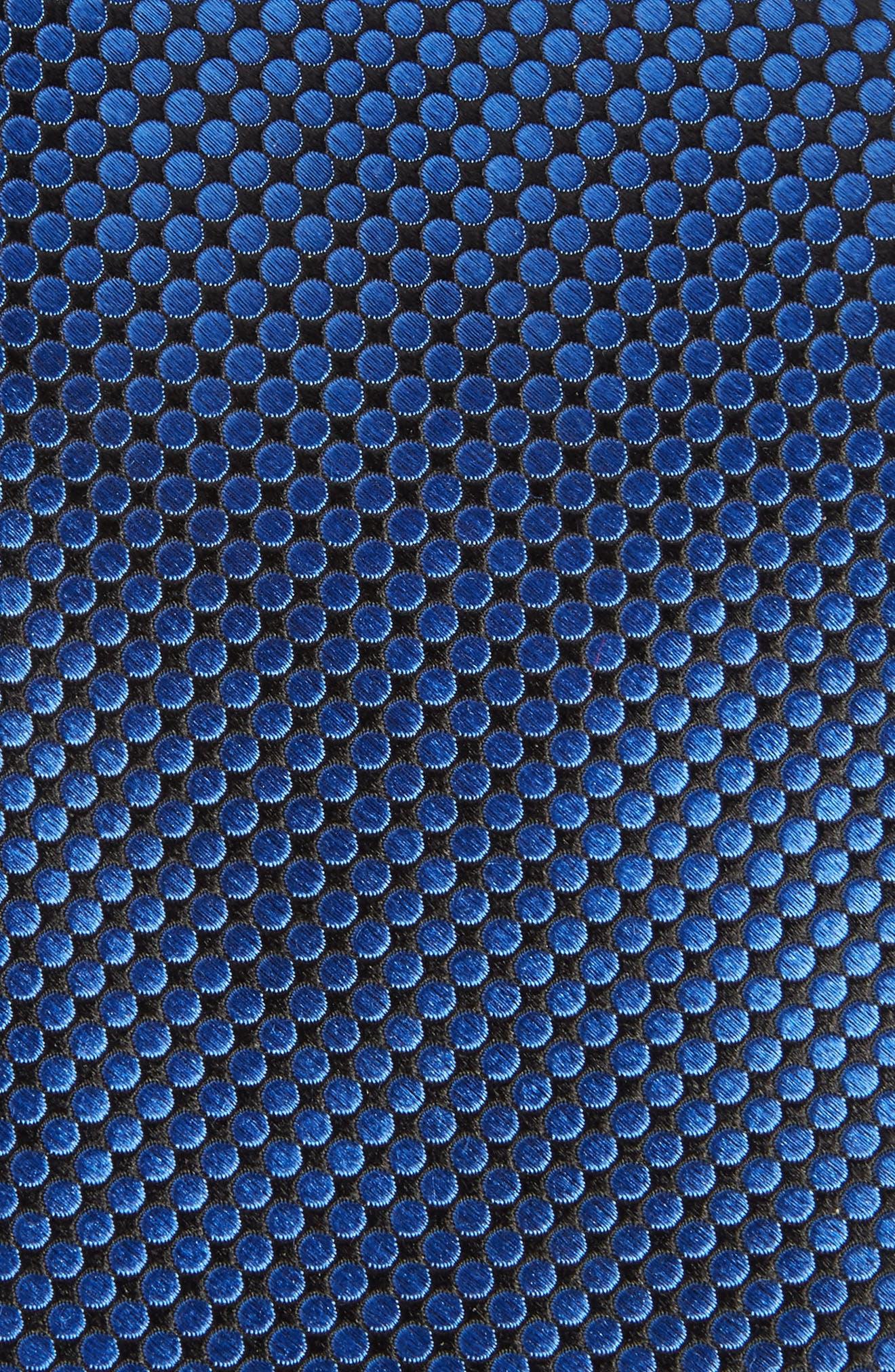 London Dot Silk Tie,                             Alternate thumbnail 2, color,                             424