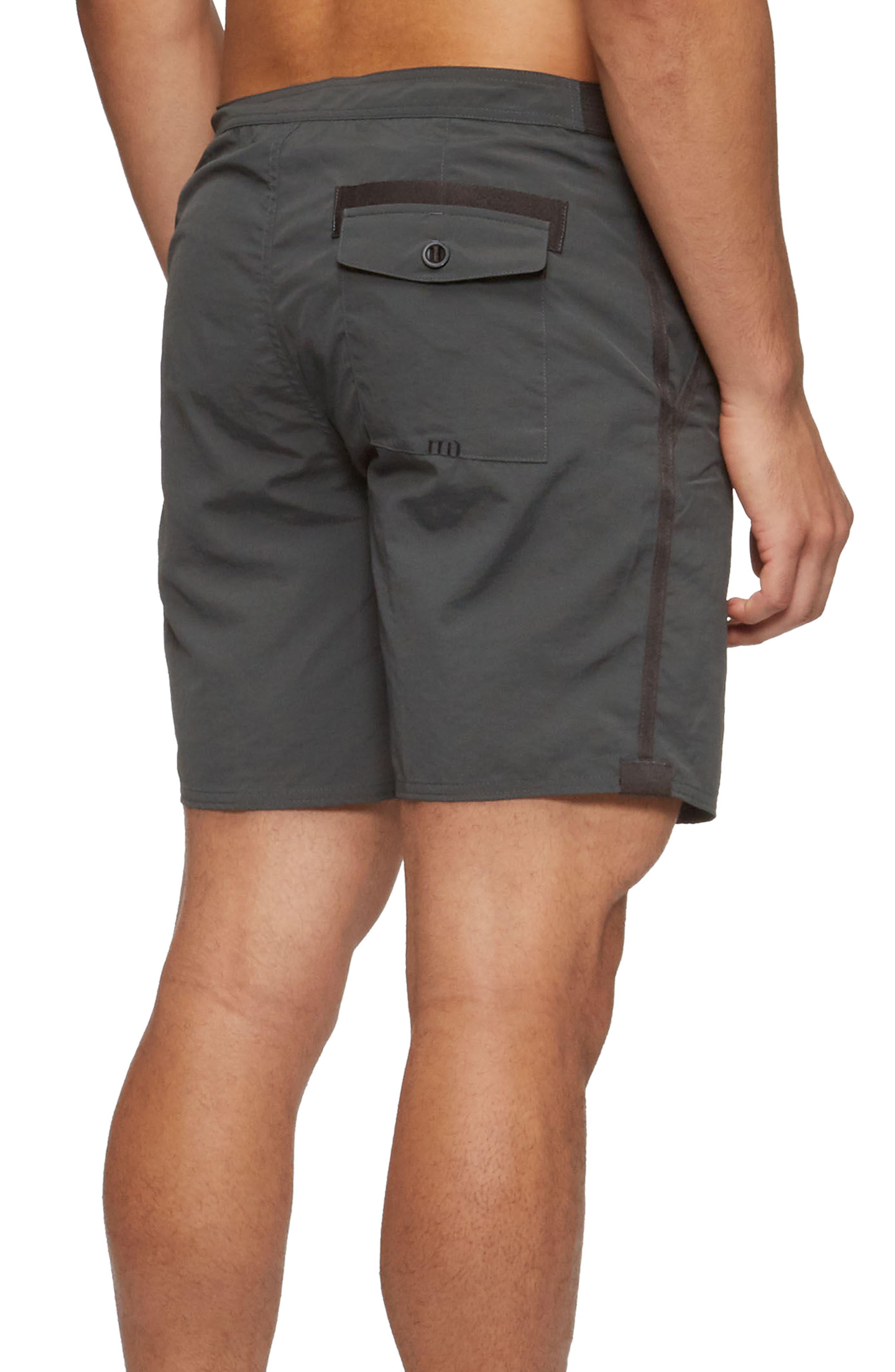 Catera Swim Shorts,                             Alternate thumbnail 2, color,                             COAL CAMO