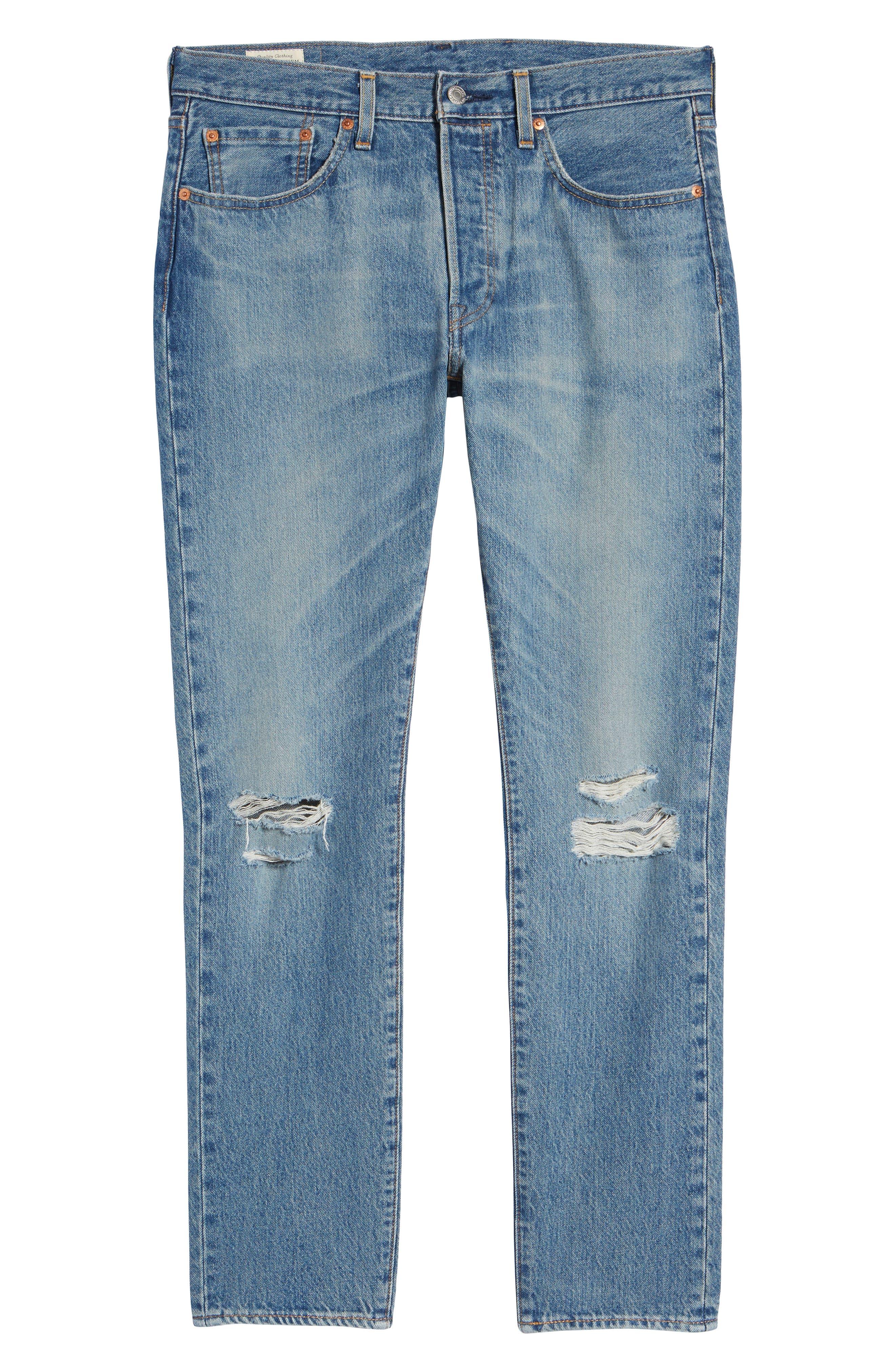 501<sup>™</sup> Slim Fit Jeans,                             Alternate thumbnail 6, color,                             SINGLE PAYER WARP