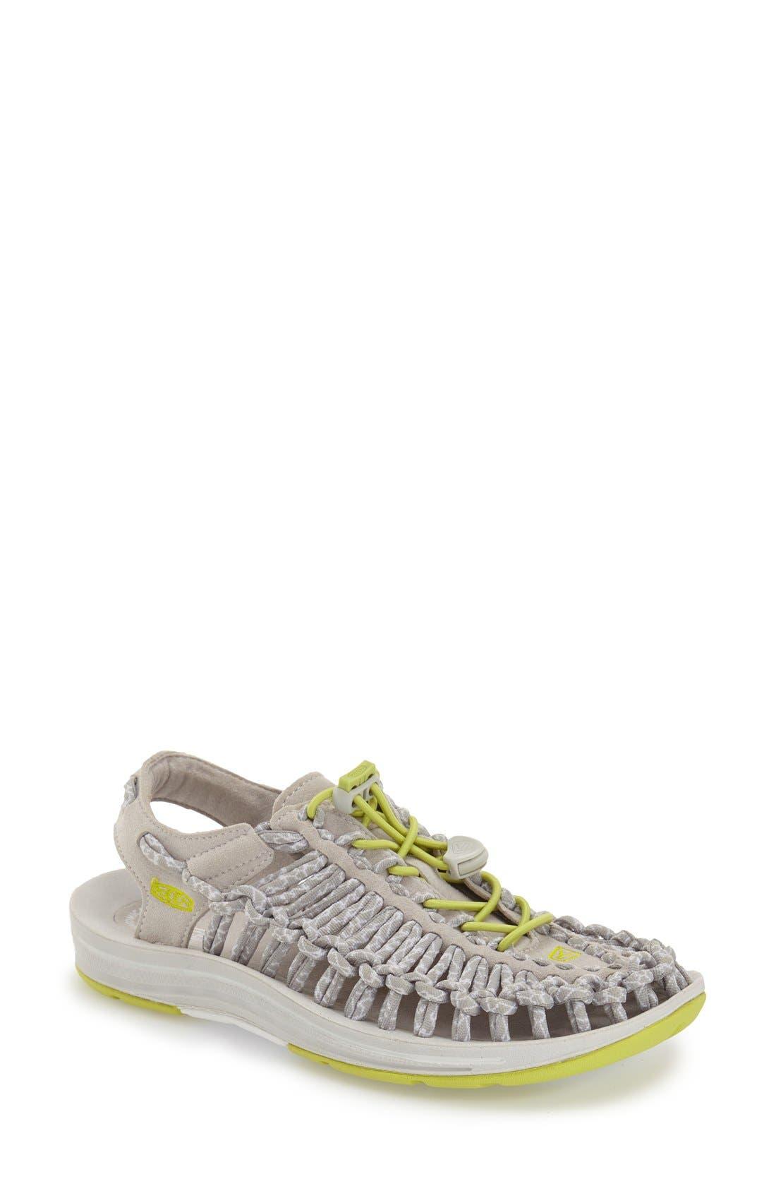 'Uneek' Sandal,                         Main,                         color, 002