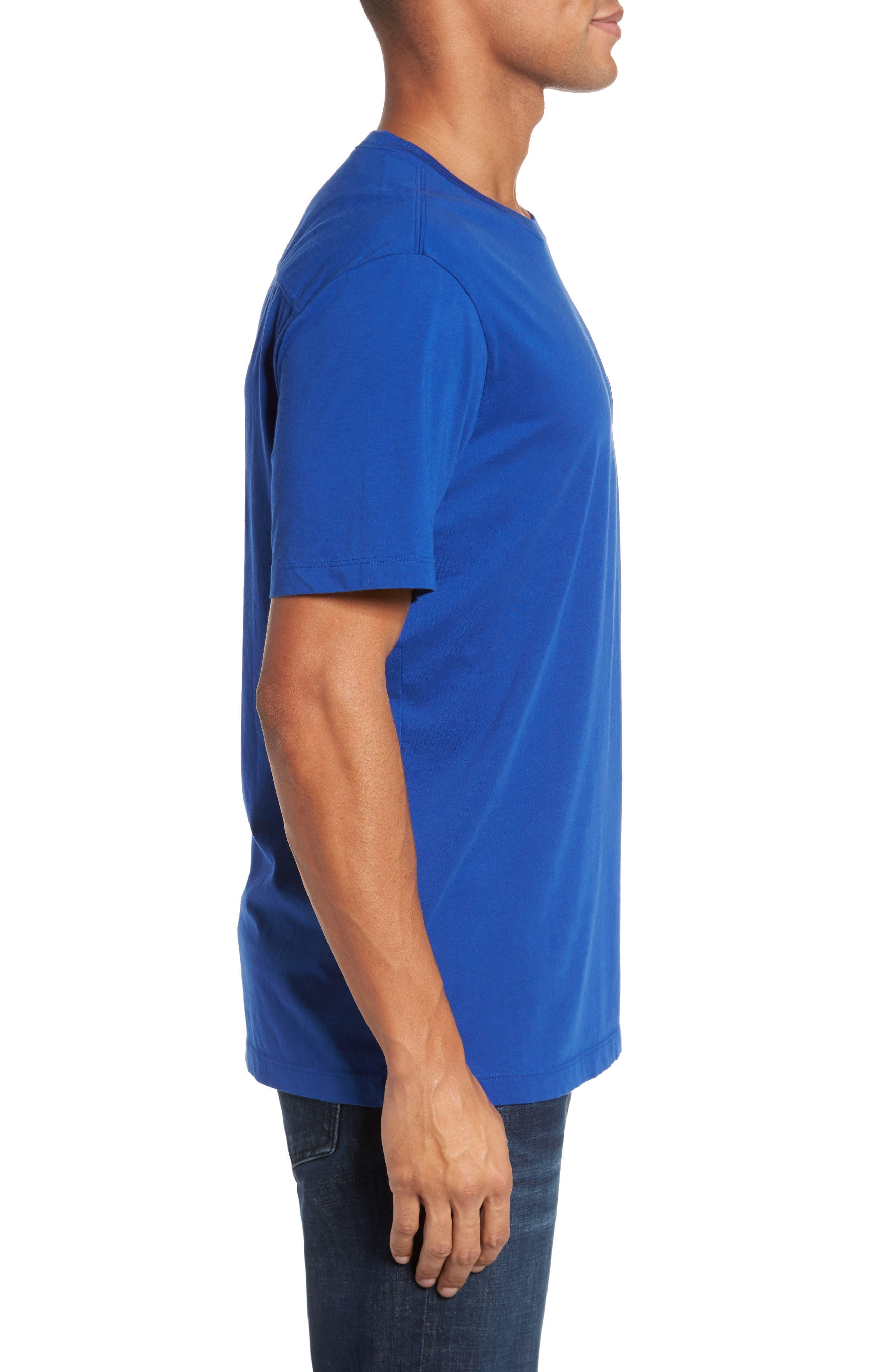 Classic Fit Pocket T-Shirt,                             Alternate thumbnail 3, color,                             413