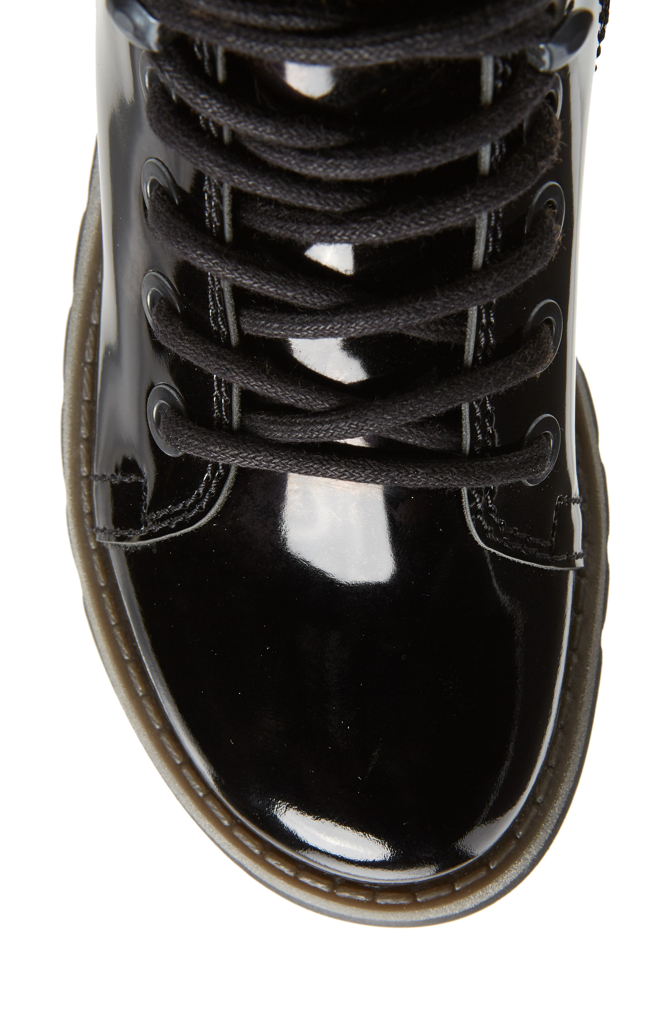 Same Lace-Up Boot,                             Alternate thumbnail 5, color,                             BLACK
