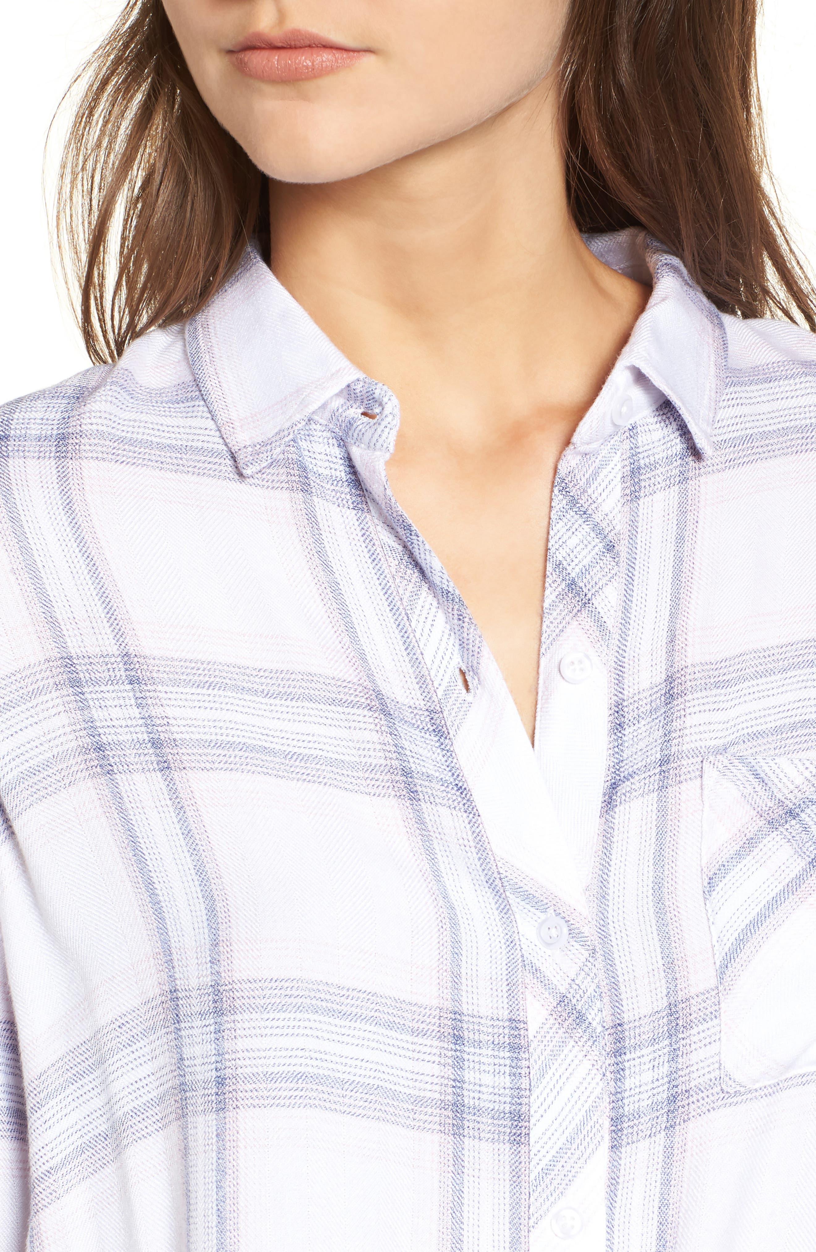 Hunter Plaid Shirt,                             Alternate thumbnail 450, color,