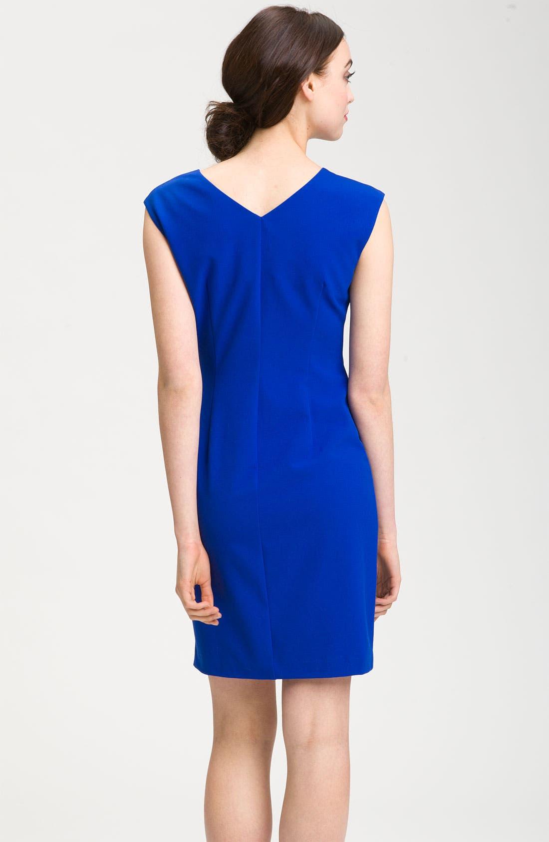 Jersey Shift Dress,                             Alternate thumbnail 3, color,                             471