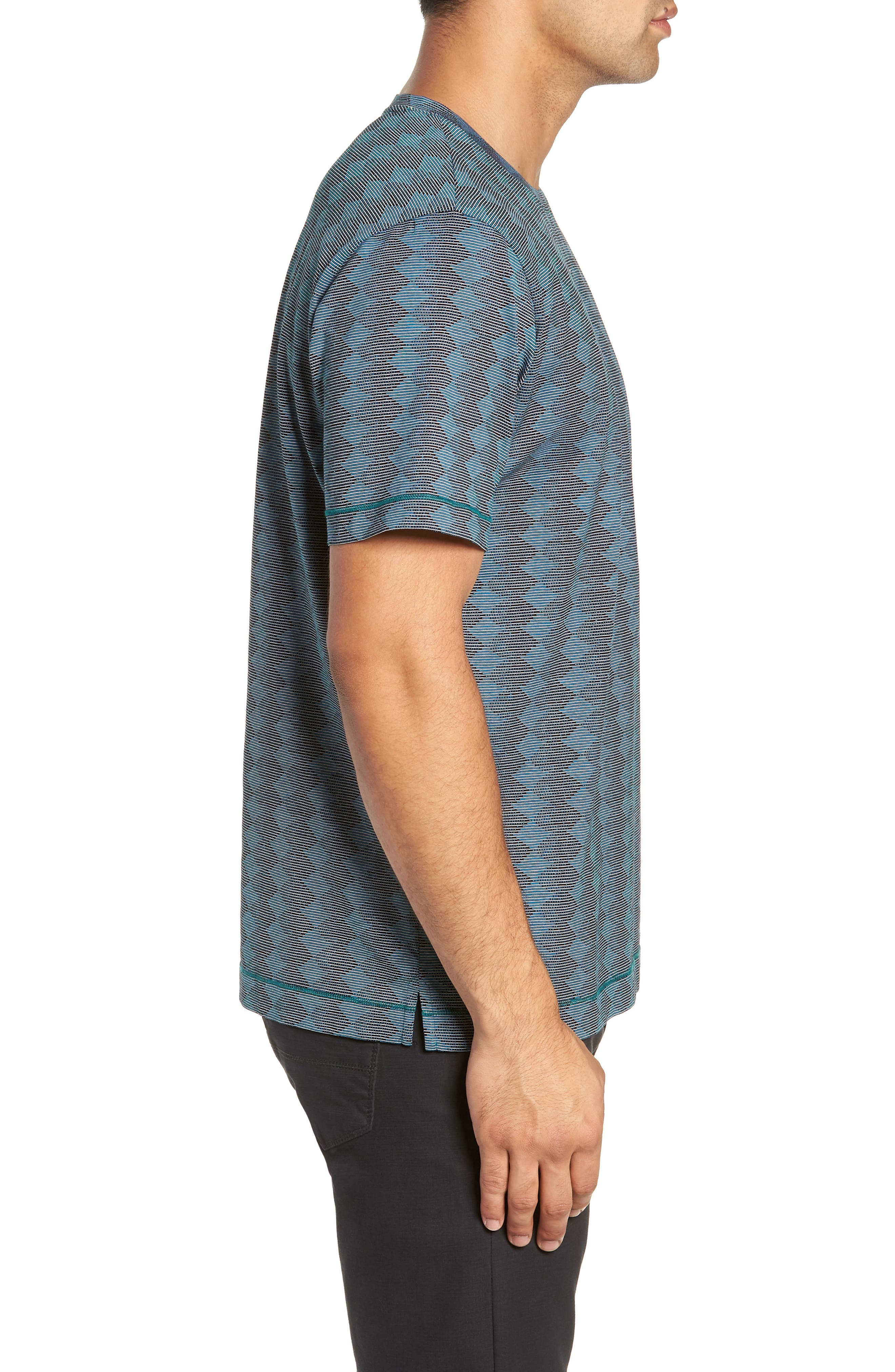 Philippe T-Shirt,                             Alternate thumbnail 3, color,                             TEAL
