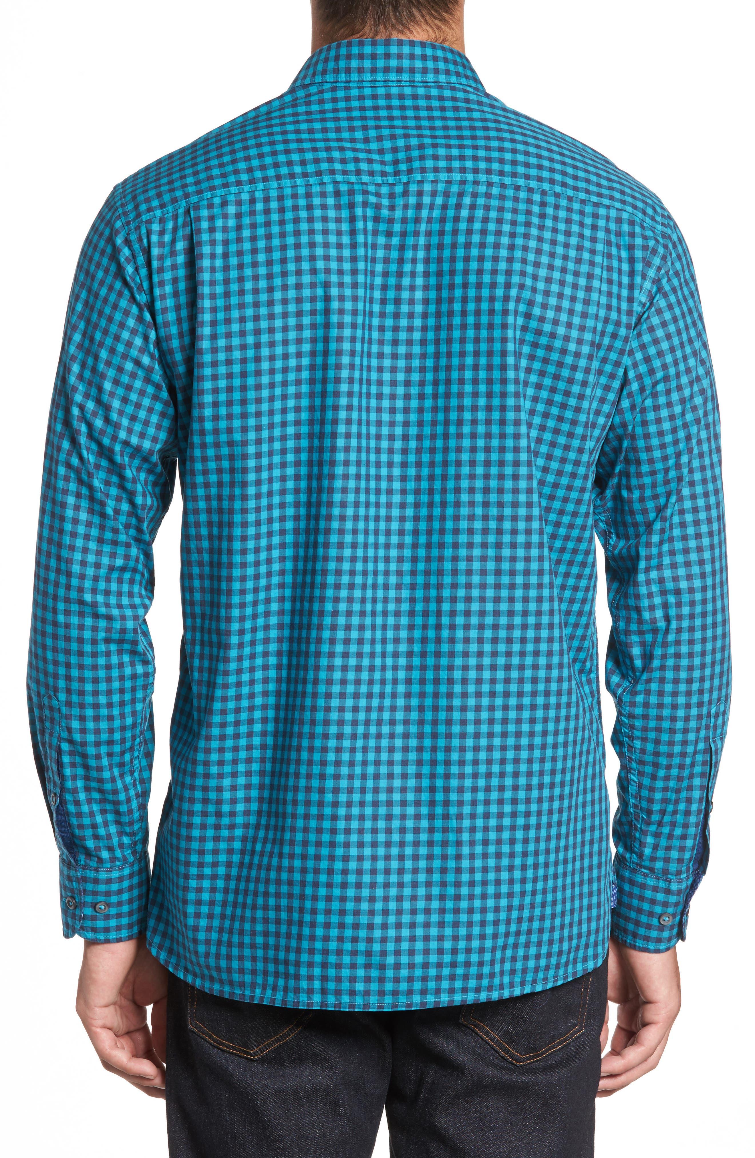 Mazagan Check Sport Shirt,                             Alternate thumbnail 2, color,                             401