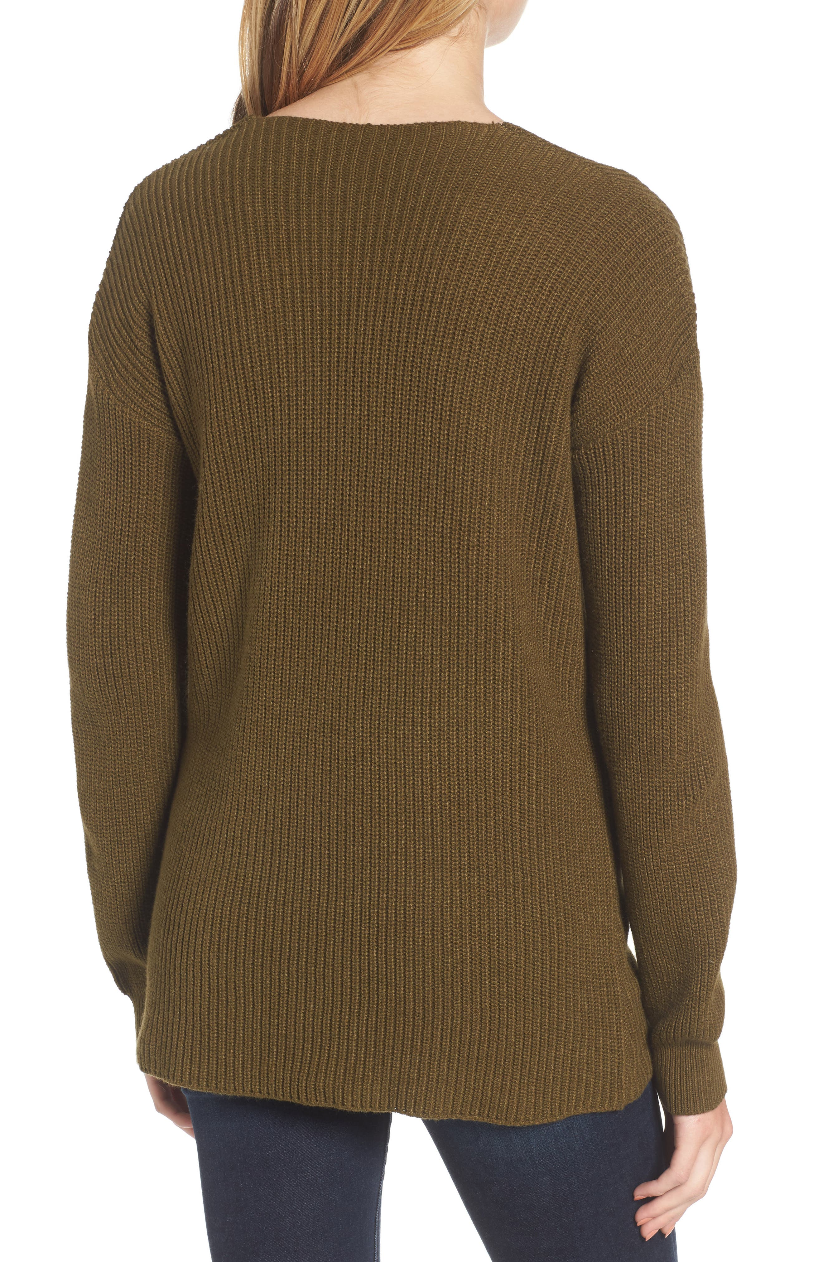 V-Neck Sweater,                             Alternate thumbnail 11, color,