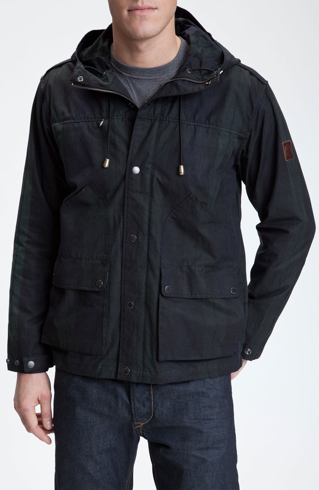 'Lockwood' Plaid Field Jacket, Main, color, 001