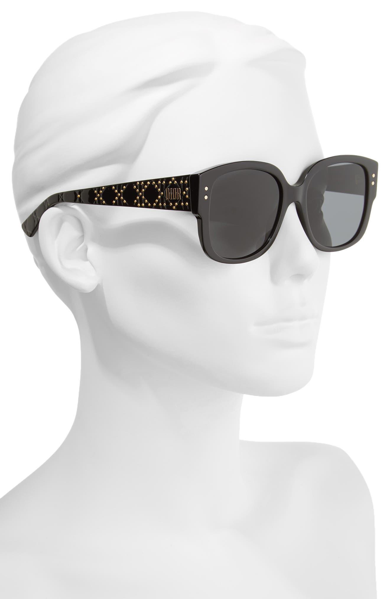 Square 54mm Sunglasses,                             Alternate thumbnail 2, color,                             002