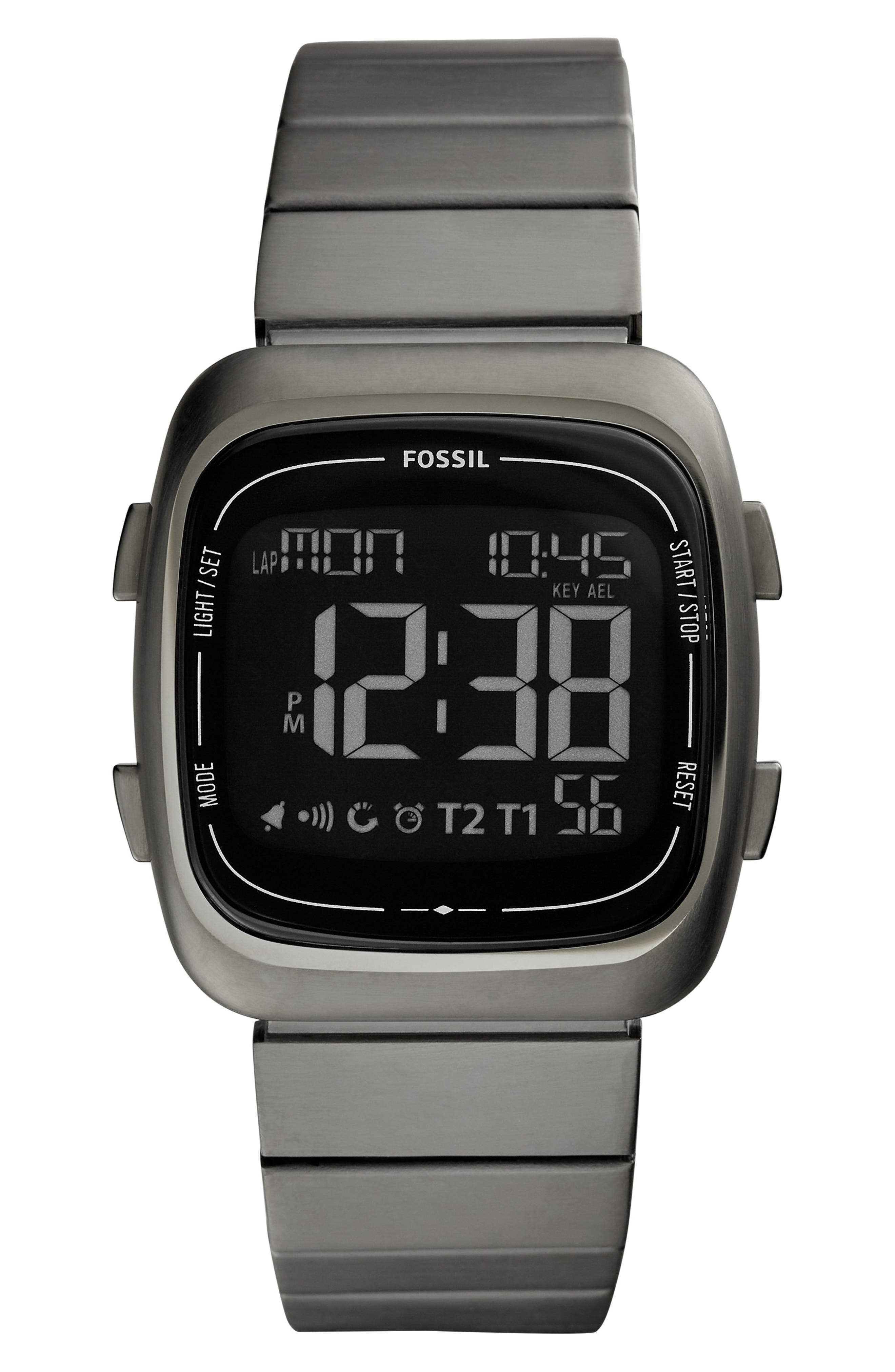 Rutherford Digital Bracelet Watch, 38mm,                             Main thumbnail 1, color,