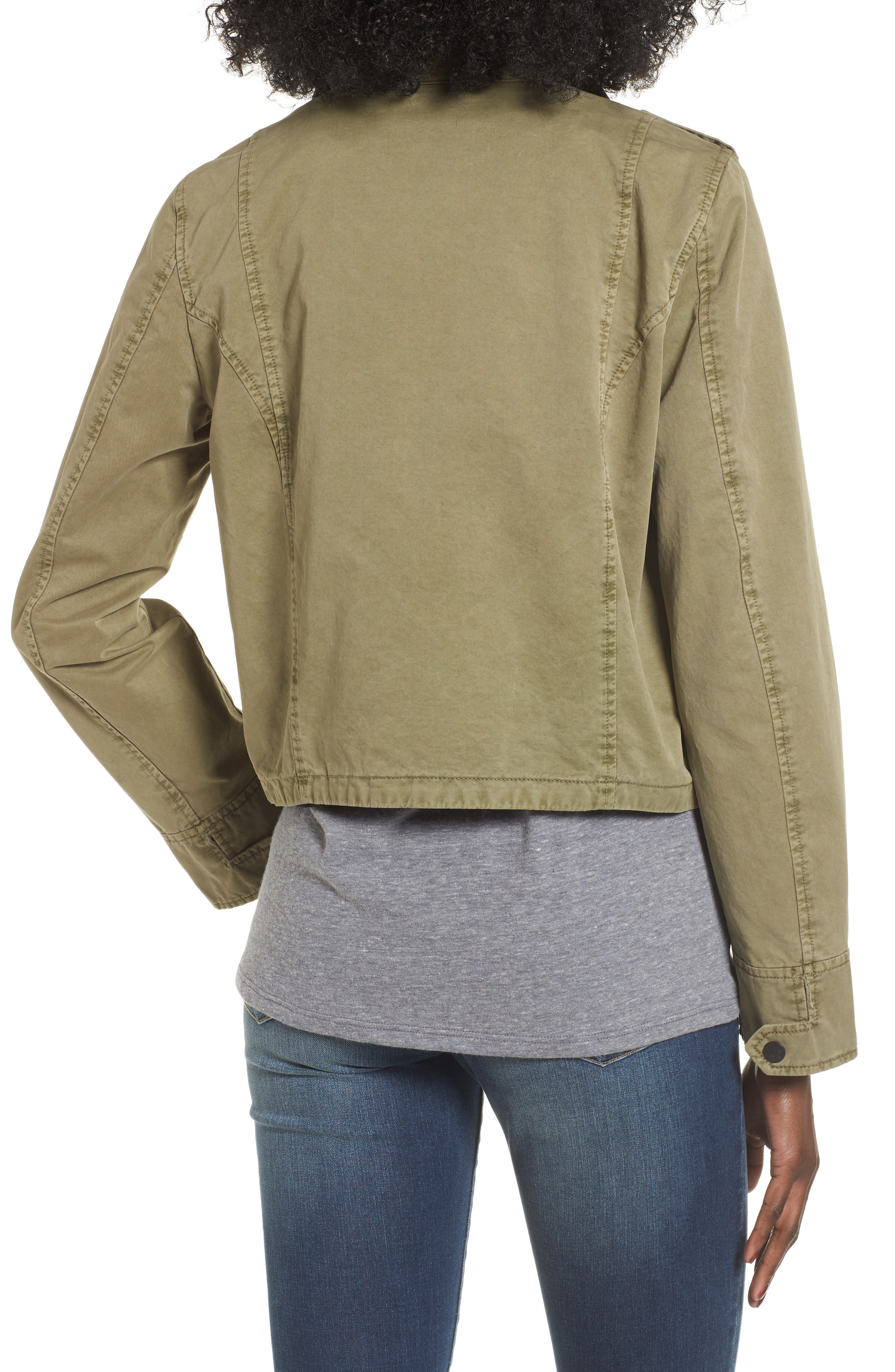 Crop Military Jacket,                             Alternate thumbnail 11, color,