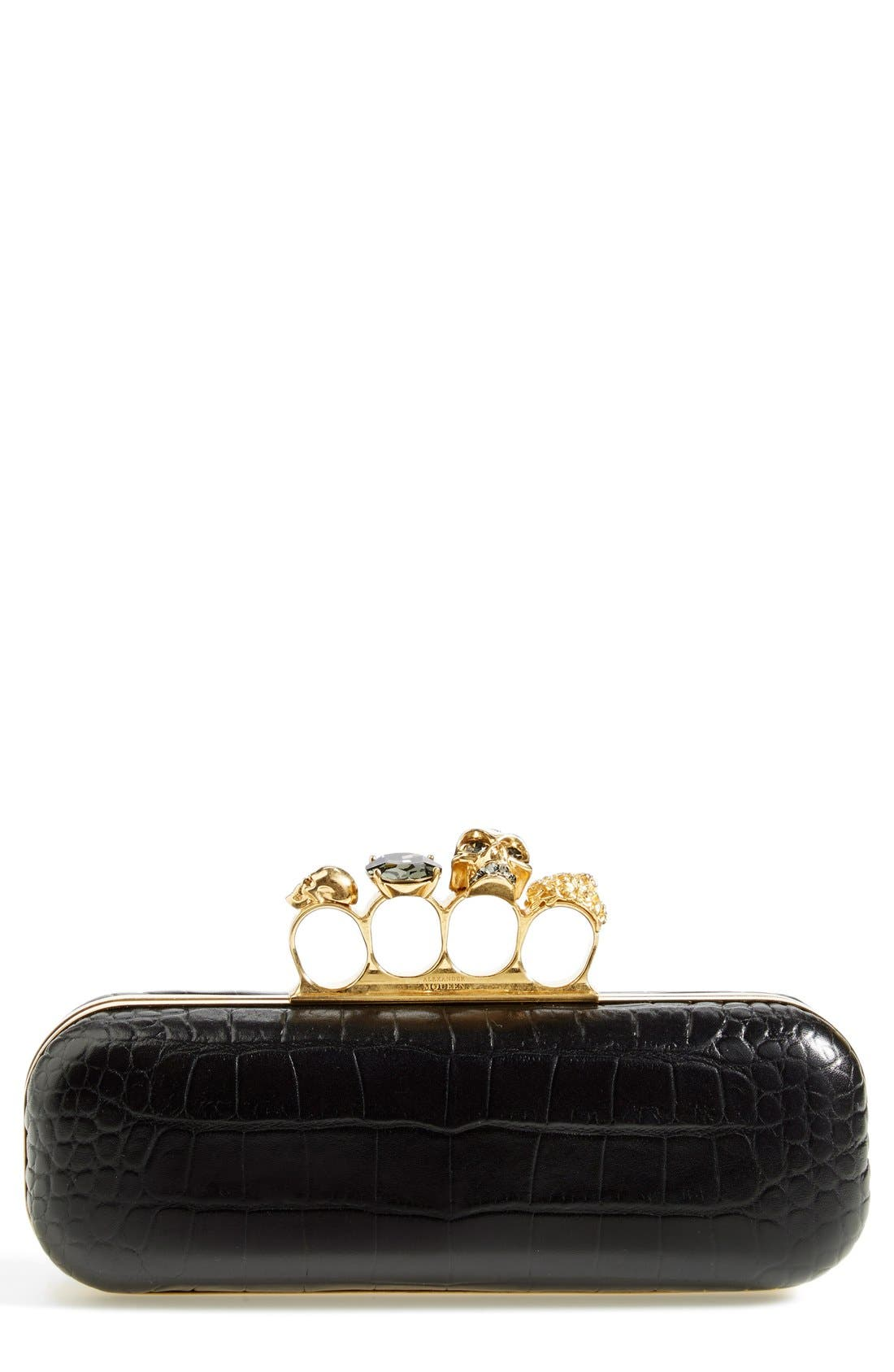 'Knuckle Box' Clutch,                         Main,                         color,