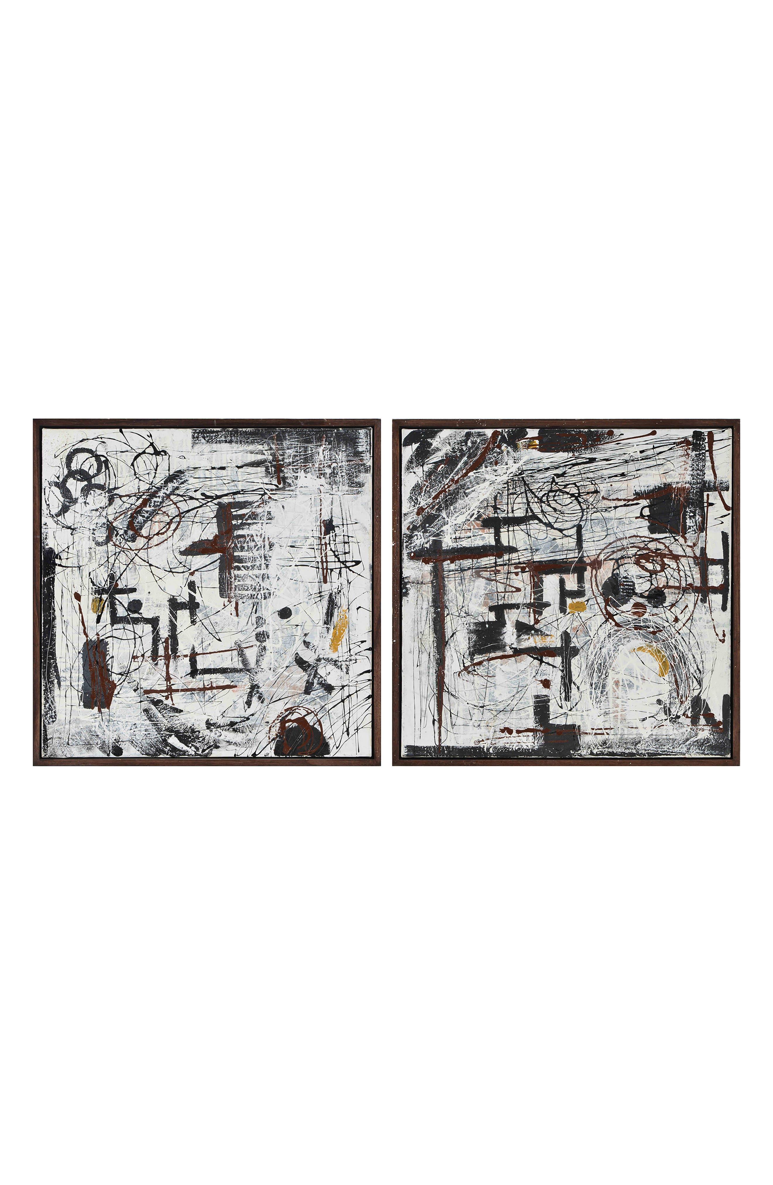Fabien Two-Panel Wall Art,                             Main thumbnail 1, color,                             MULTICOLOR