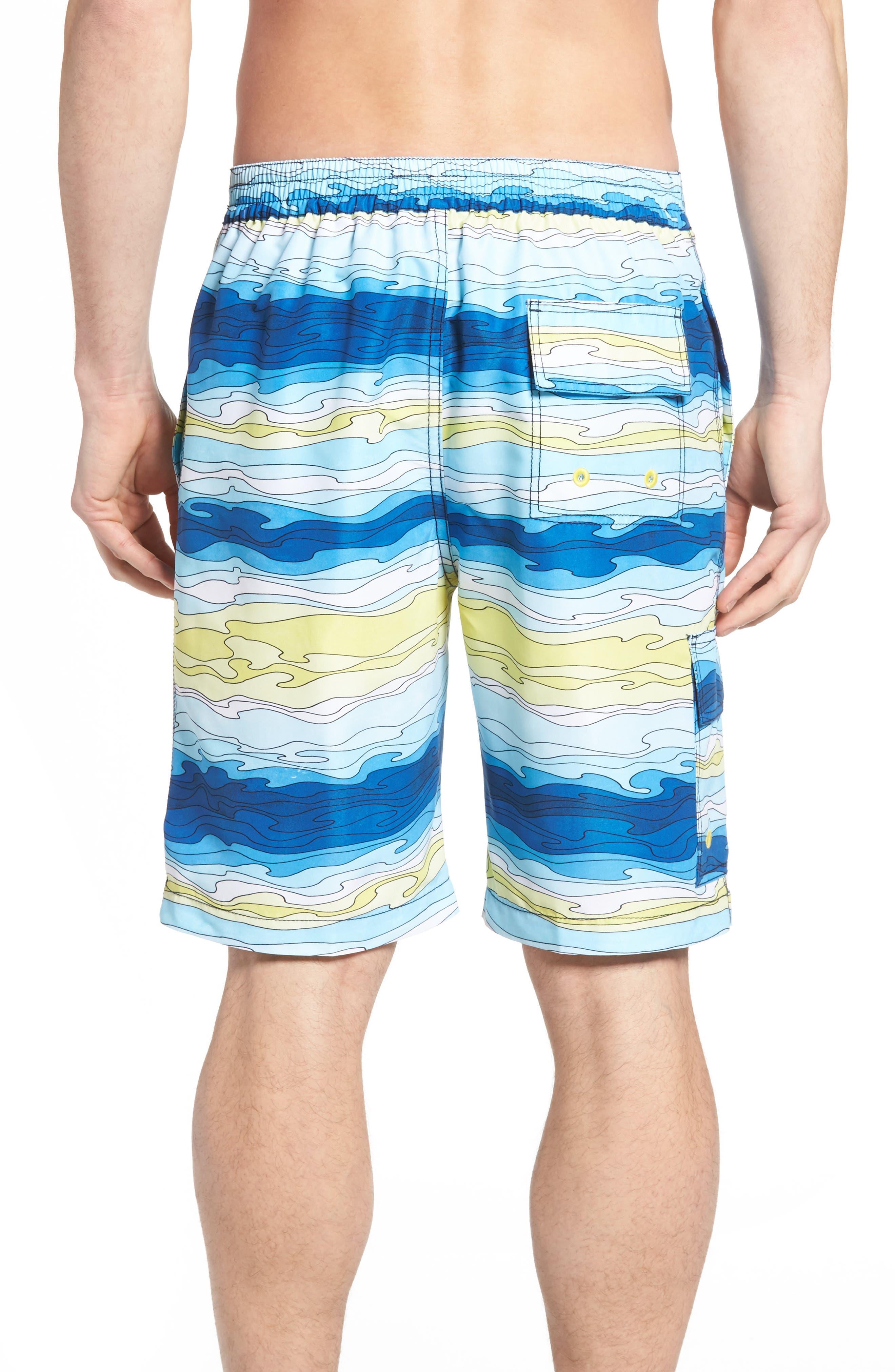 Baja Aegean Swim Trunks,                             Alternate thumbnail 2, color,                             400