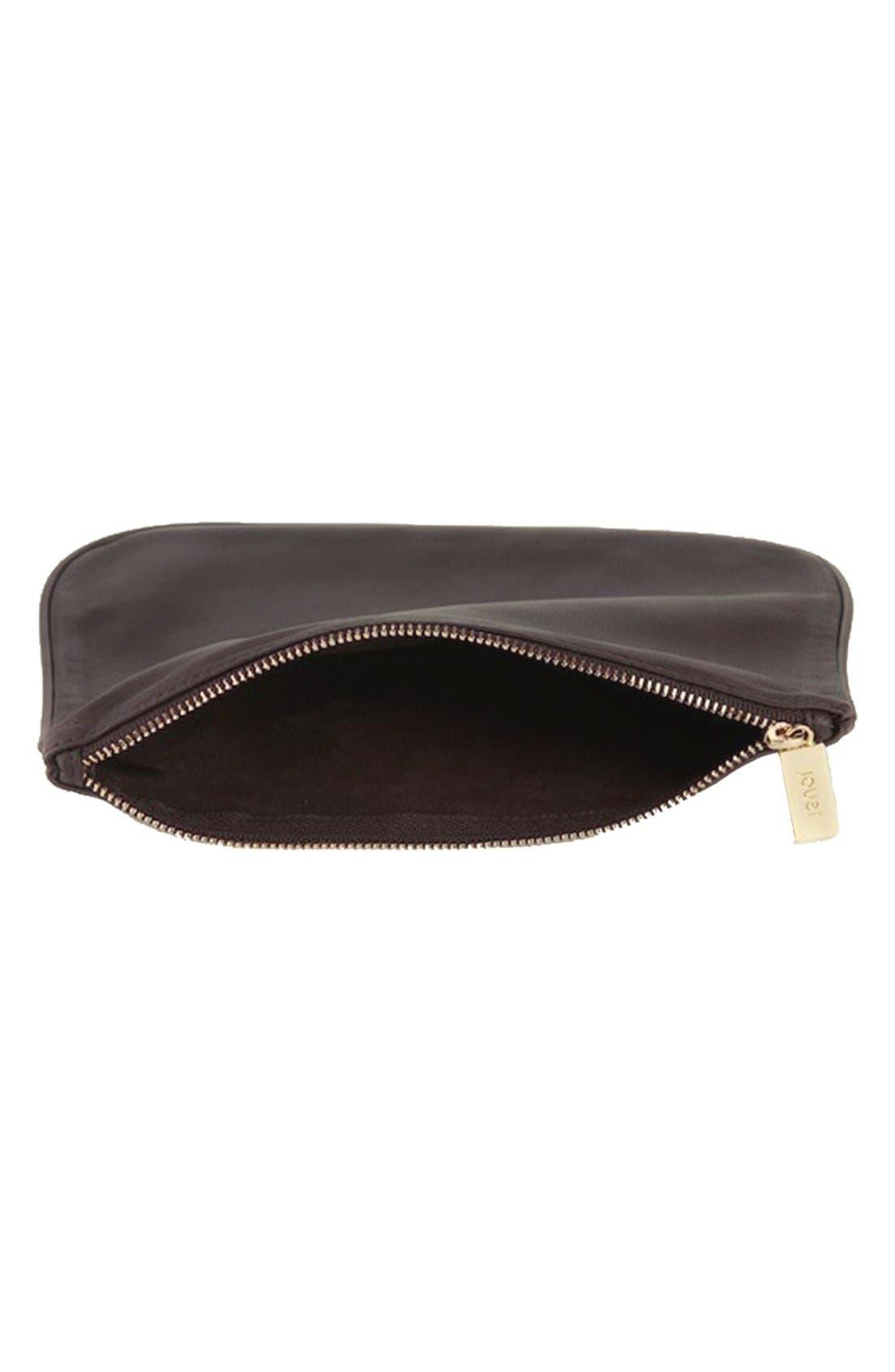'IT - Chocolate' Cosmetics Bag,                             Alternate thumbnail 2, color,                             200