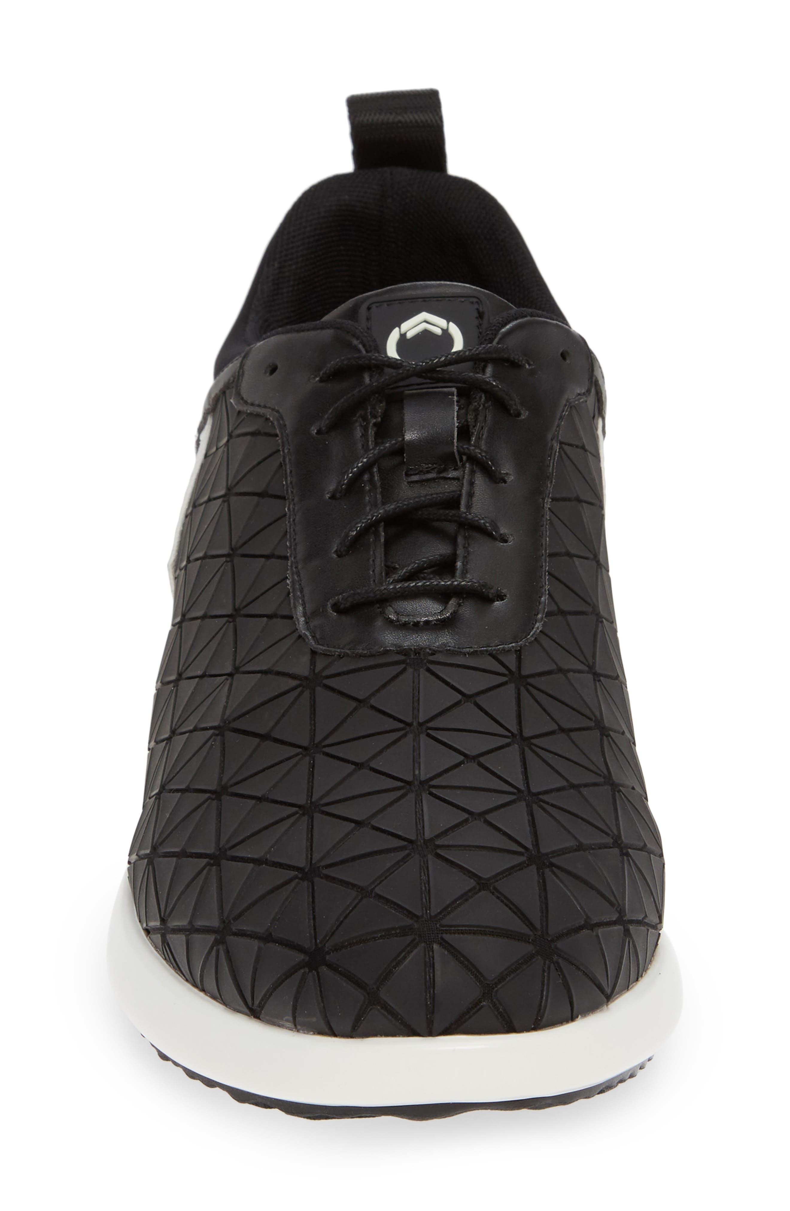 Optic Sneaker,                             Alternate thumbnail 4, color,                             001