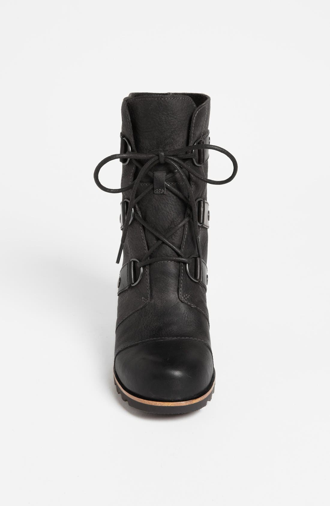 'Joan of Arctic' Wedge Boot,                             Alternate thumbnail 3, color,                             010