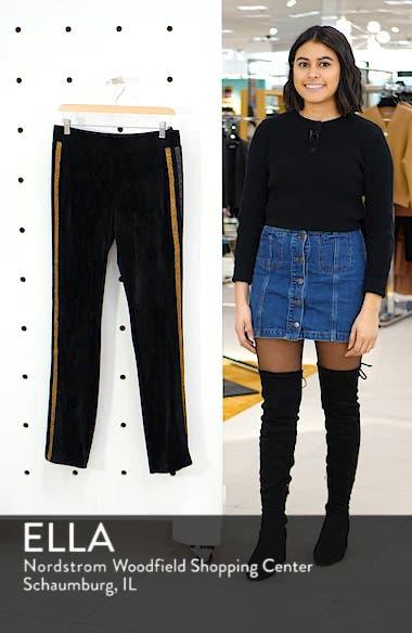 Shimmer Stripe Track Pants, sales video thumbnail