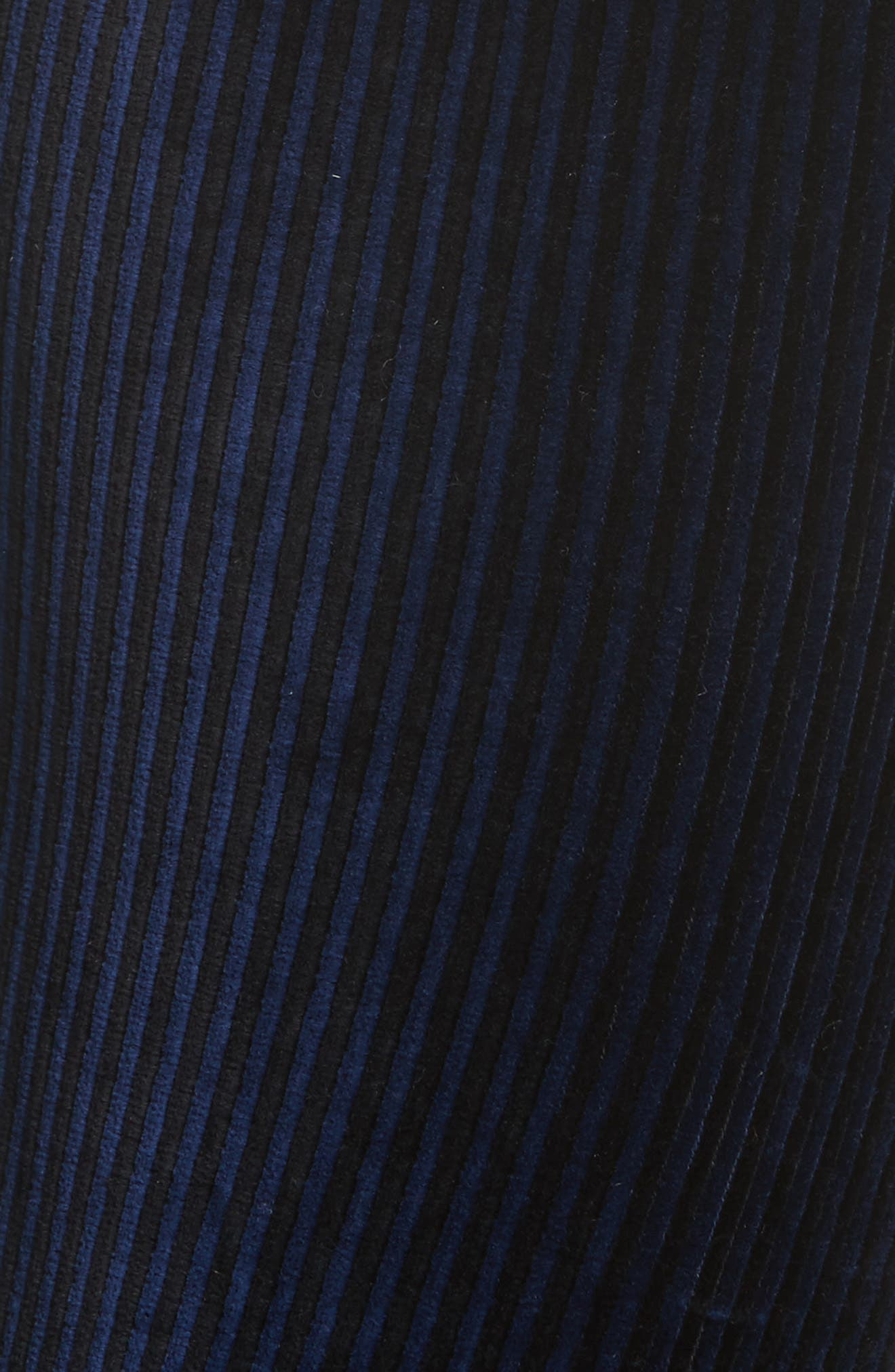 Here We Go High Waist Stripe Velvet Leggings,                             Alternate thumbnail 5, color,                             410