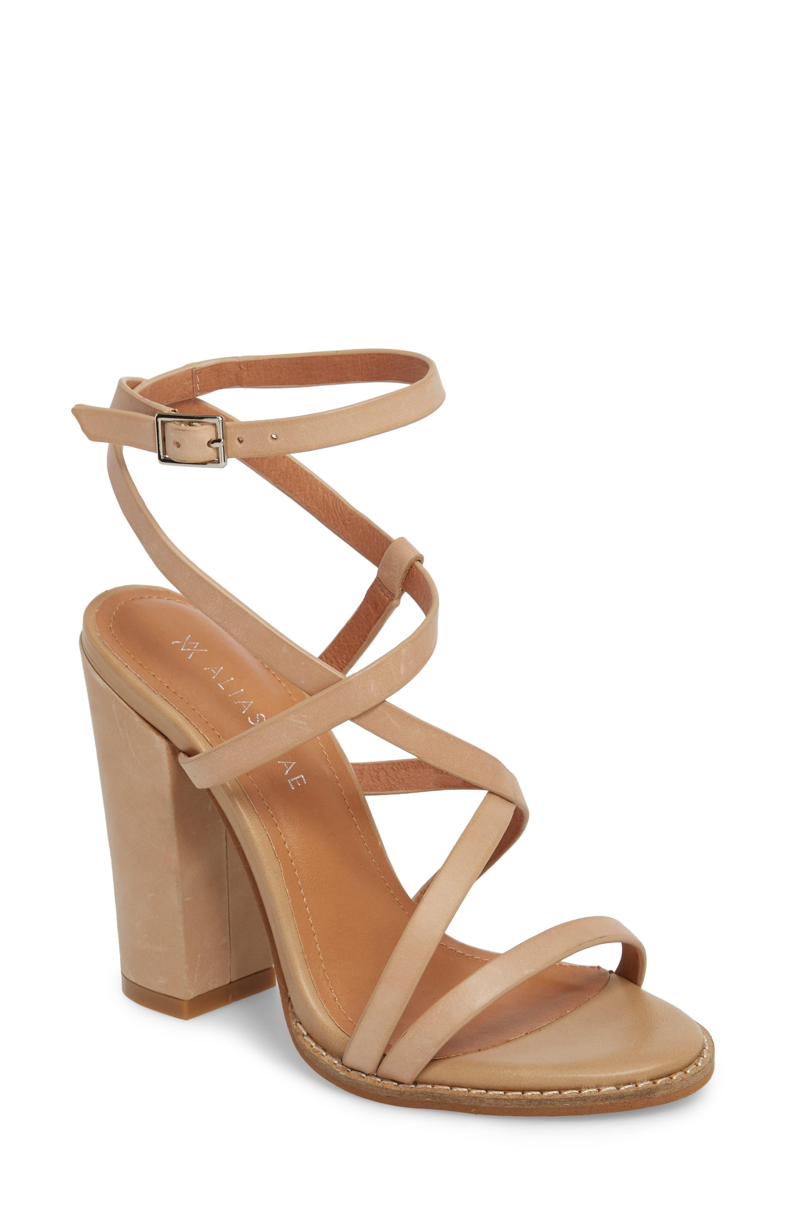 Jyve Asymmetrical Cross Strap Sandal,                             Main thumbnail 1, color,